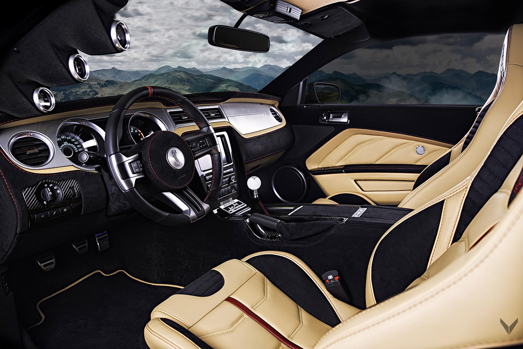 Shelby Gt H >> Vilner releases Shelby Mustang GT500 Super Snake ...