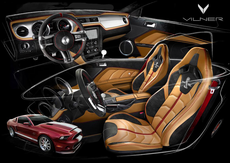 Ford Mustang Hennessey >> Vilner releases Shelby Mustang GT500 Super Snake ...