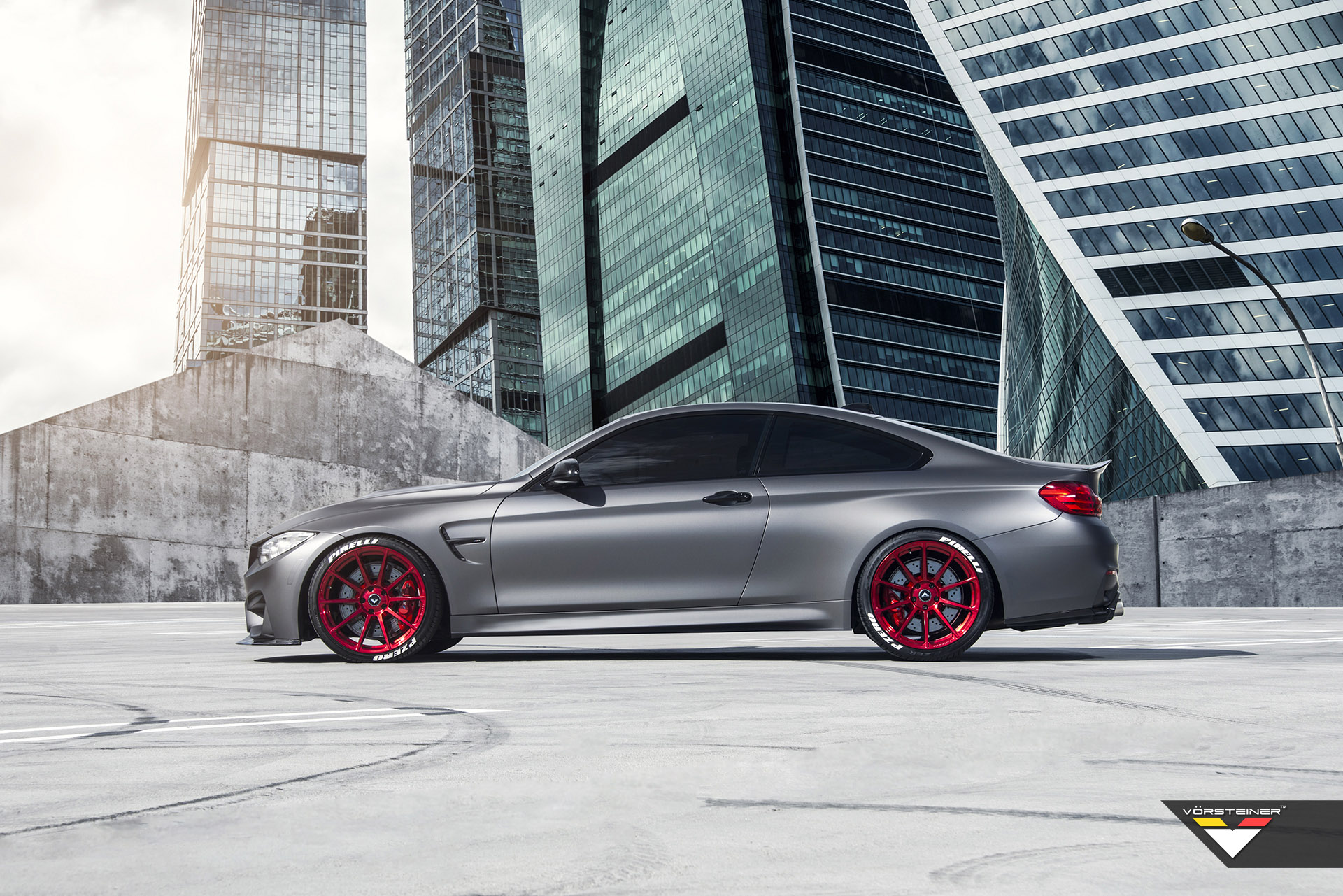 Vorsteiner Shows Off With Bmw M4 F8x In Frozen Gray
