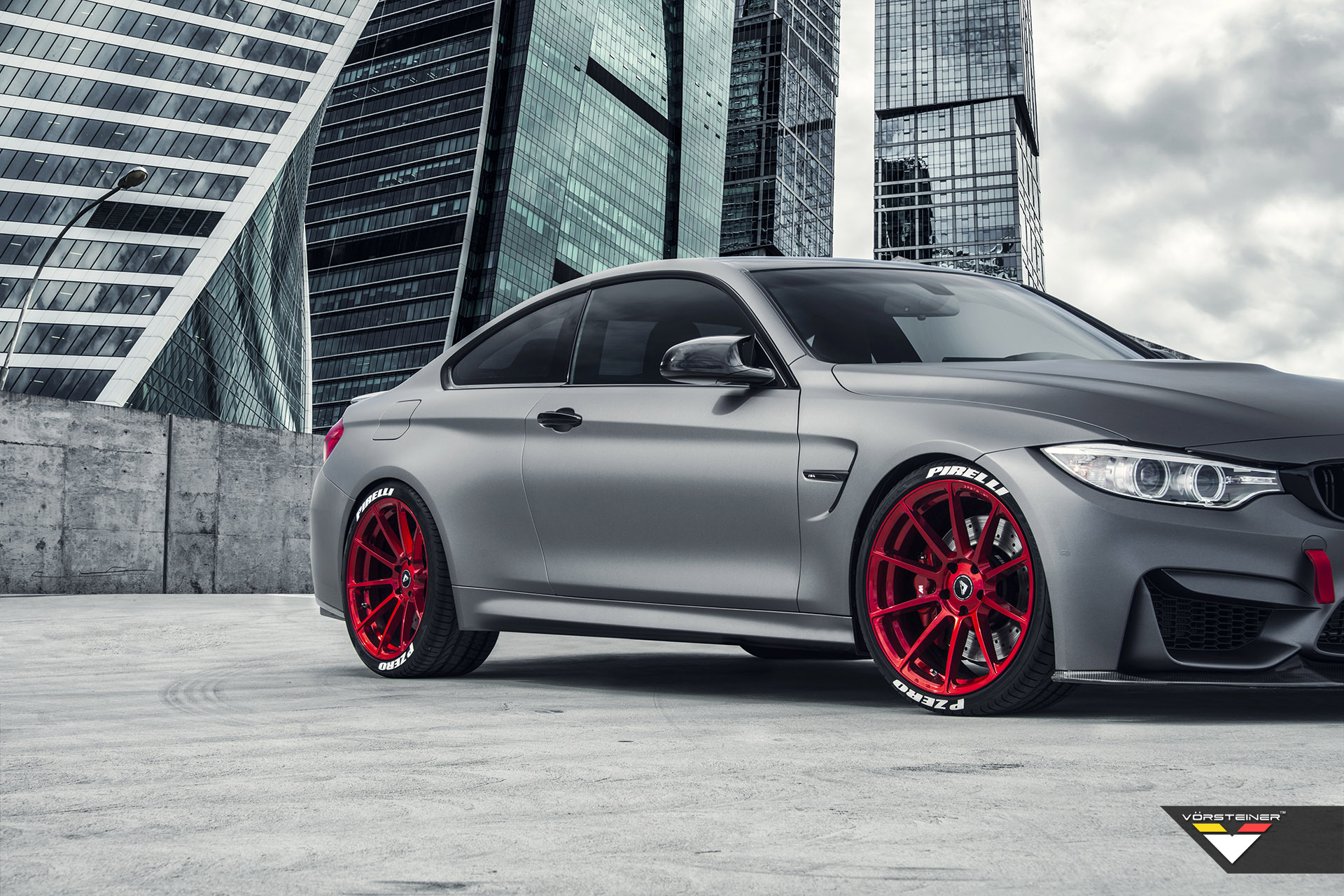 vorsteiner shows off with bmw m4 f8x in frozen gray. Black Bedroom Furniture Sets. Home Design Ideas