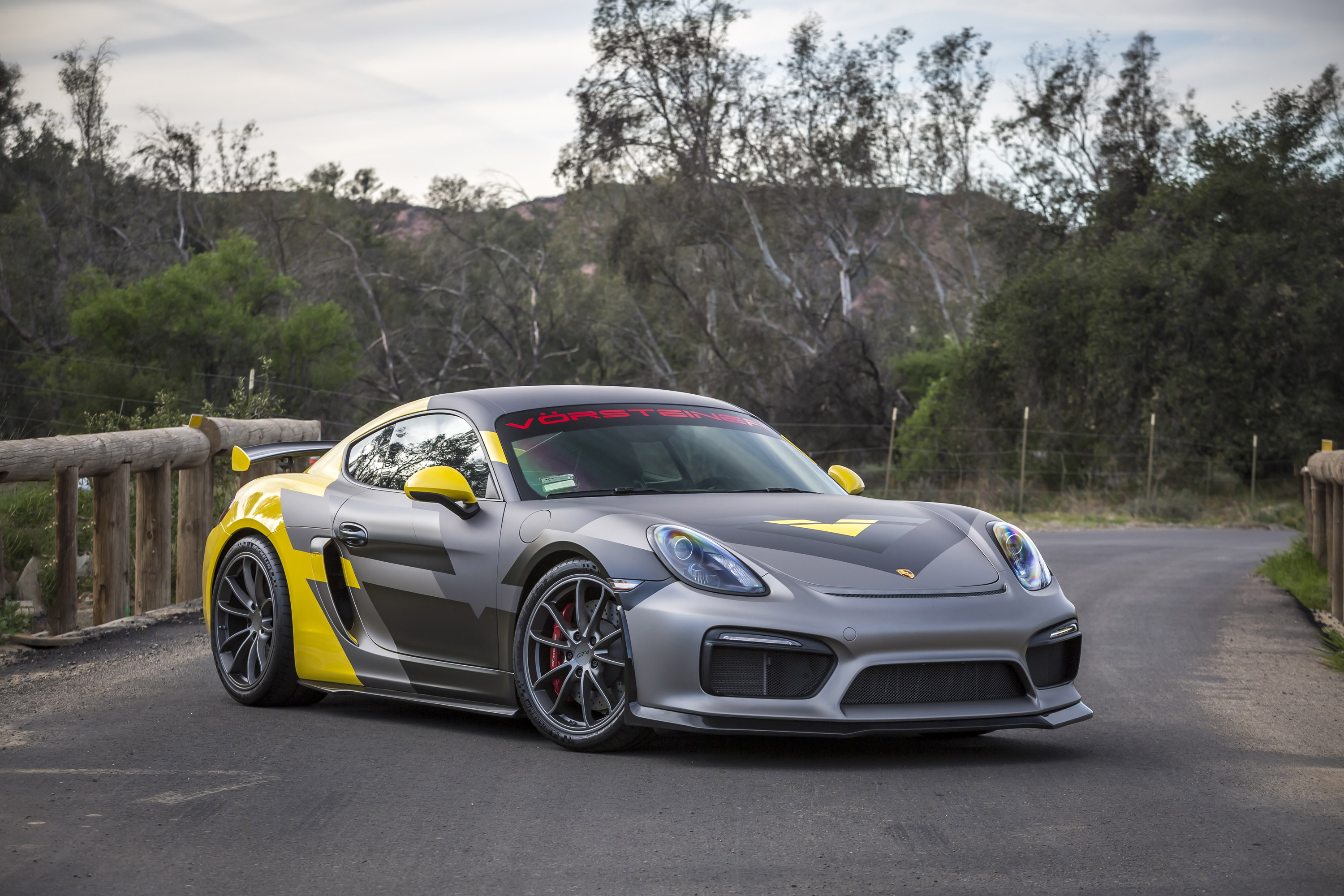 Porsche Carbon Fiber Wheels >> Exhilarating Porsche Cayman GT4-V Program