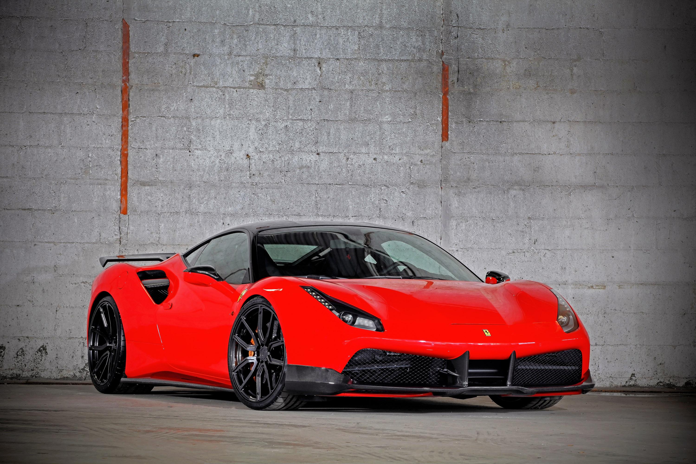VOS Ferrari 488 GTB 9x Revealed