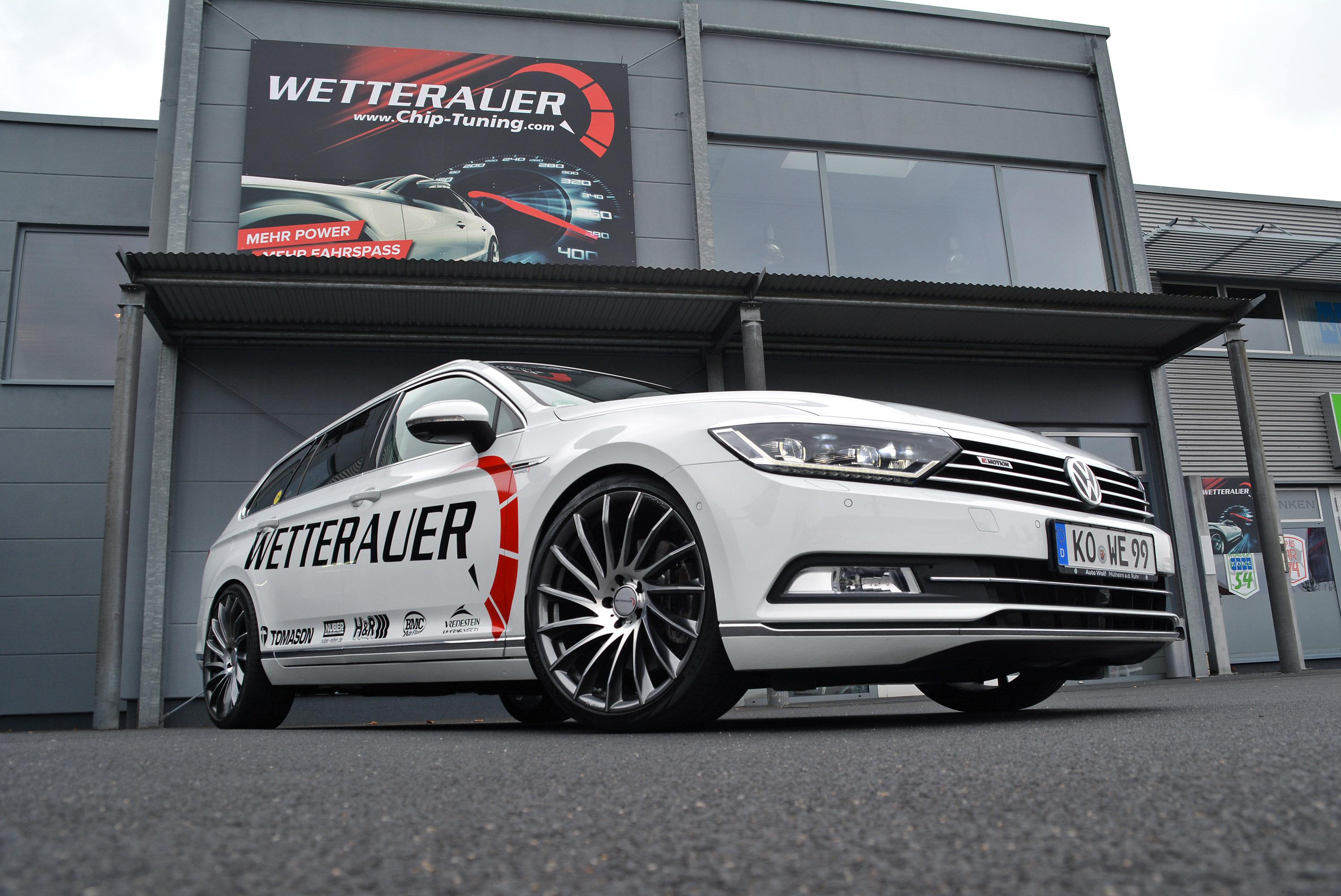 Wetterauer Engineering Uprates Volkswagen Passat B8