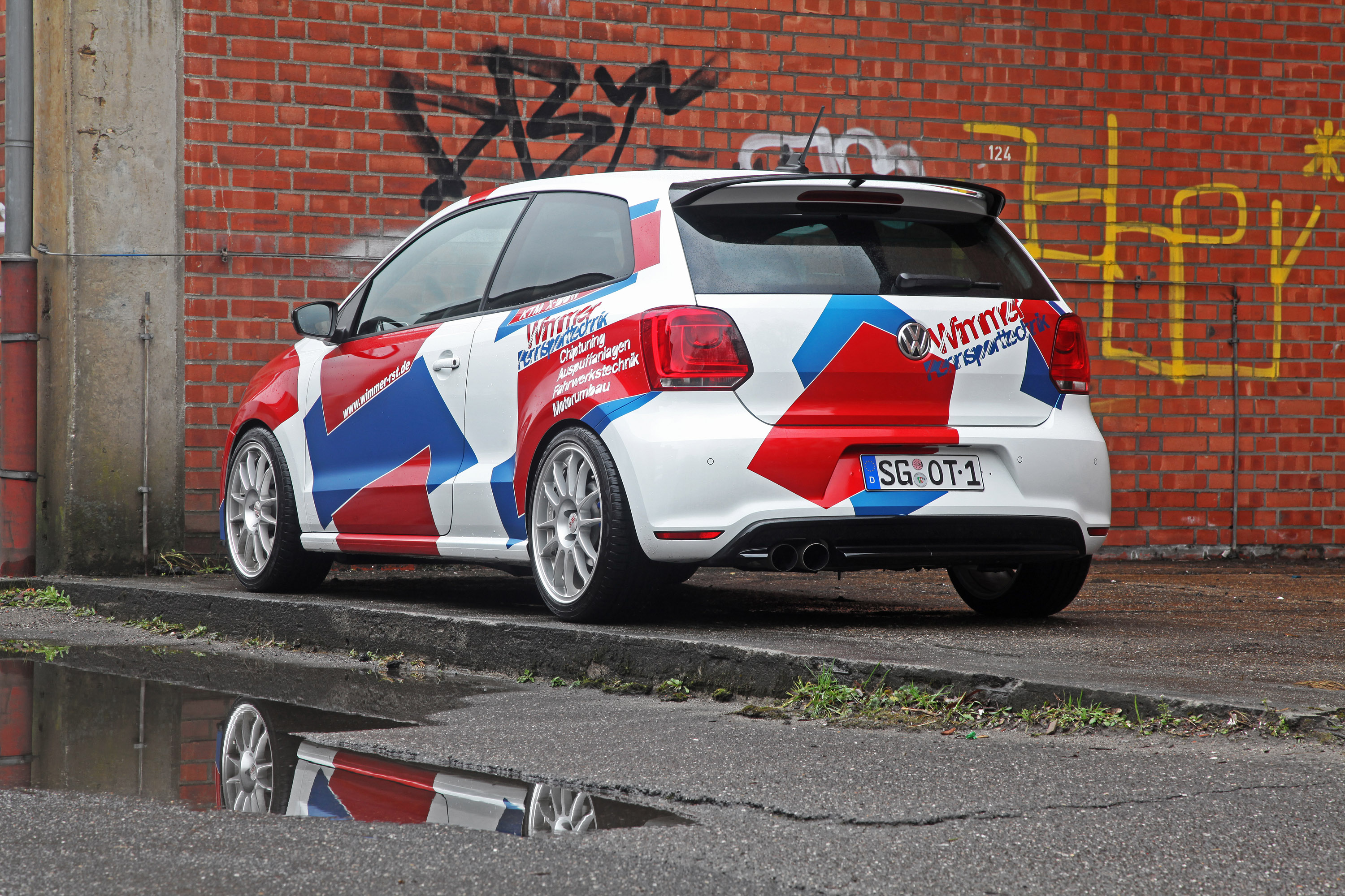 wimmer rs previews 420hp volkswagen polo wrc. Black Bedroom Furniture Sets. Home Design Ideas