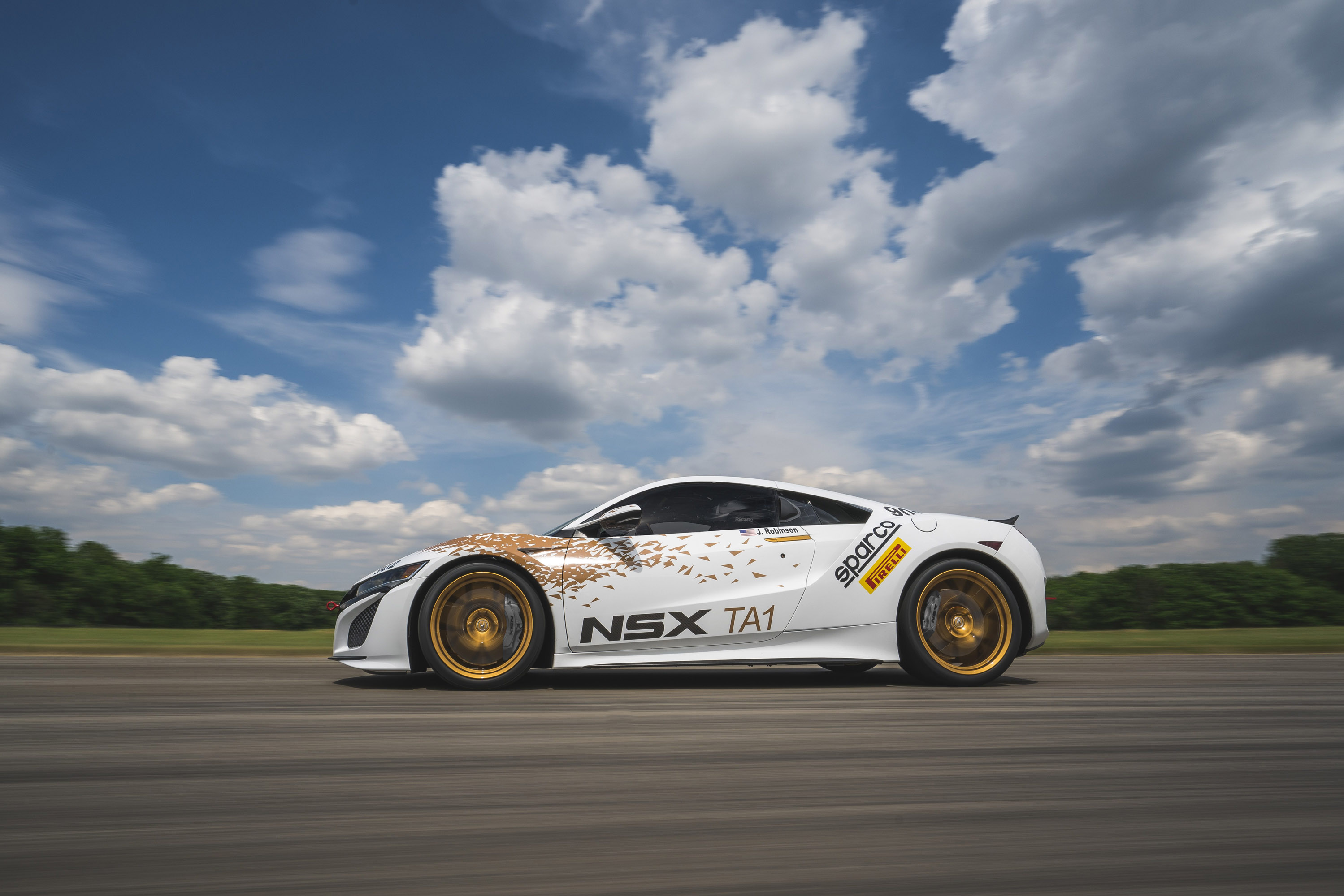 two 2017 acura nsx vehicles will be showcased at pikes peak