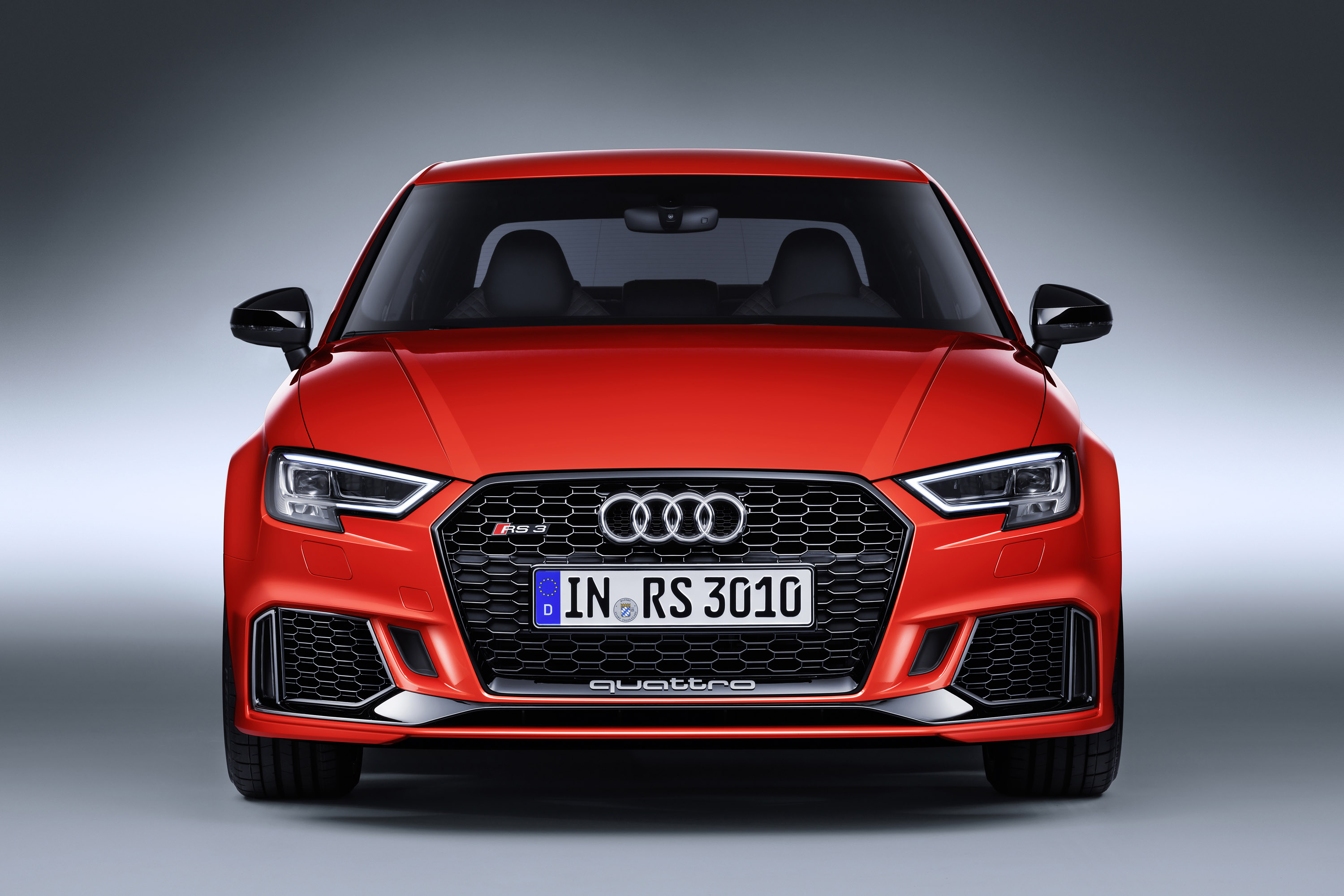 audi reveals rs 3 sedan at 2017 paris motor show. Black Bedroom Furniture Sets. Home Design Ideas