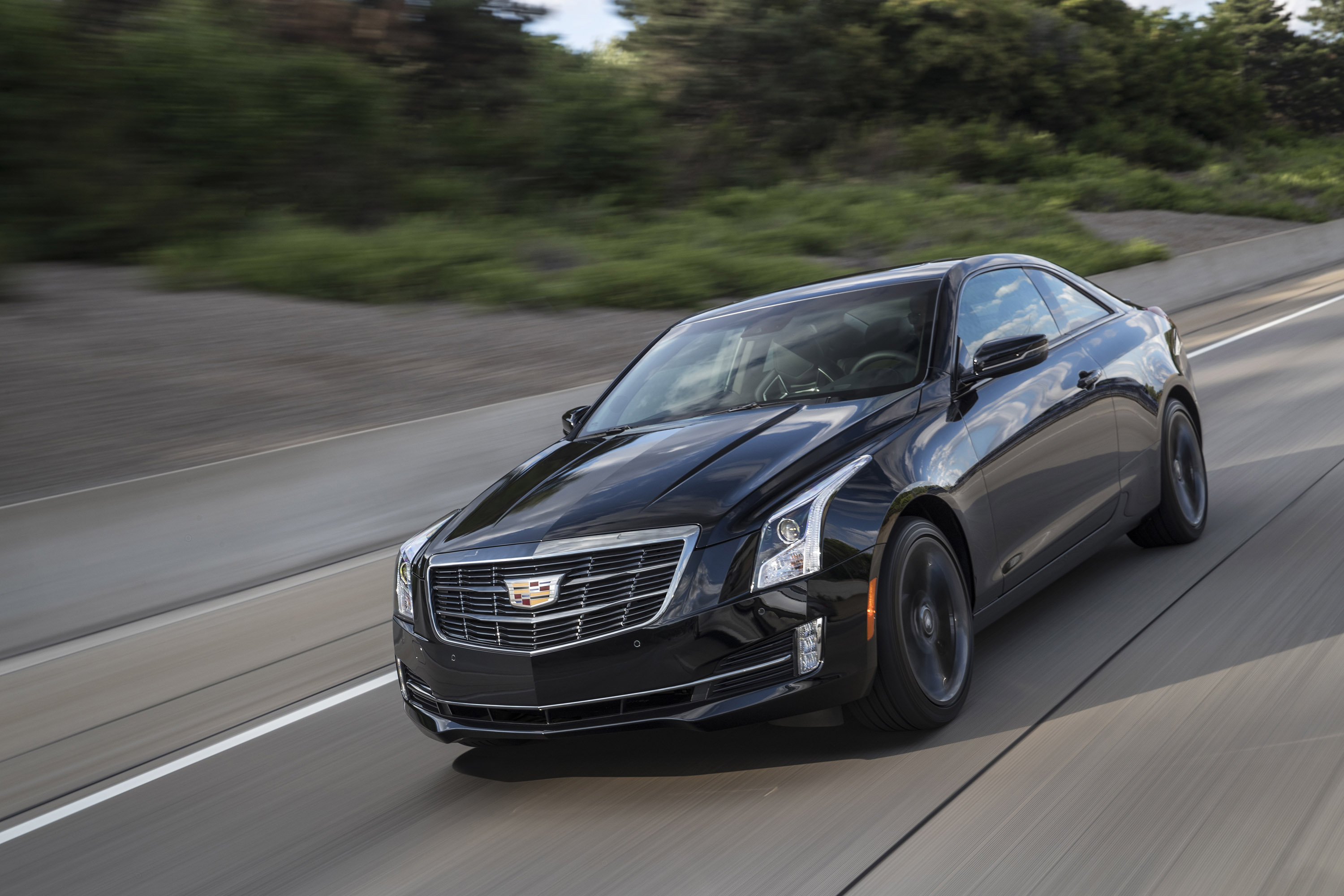 cadillac releases 2017 cts ats facelifts. Black Bedroom Furniture Sets. Home Design Ideas