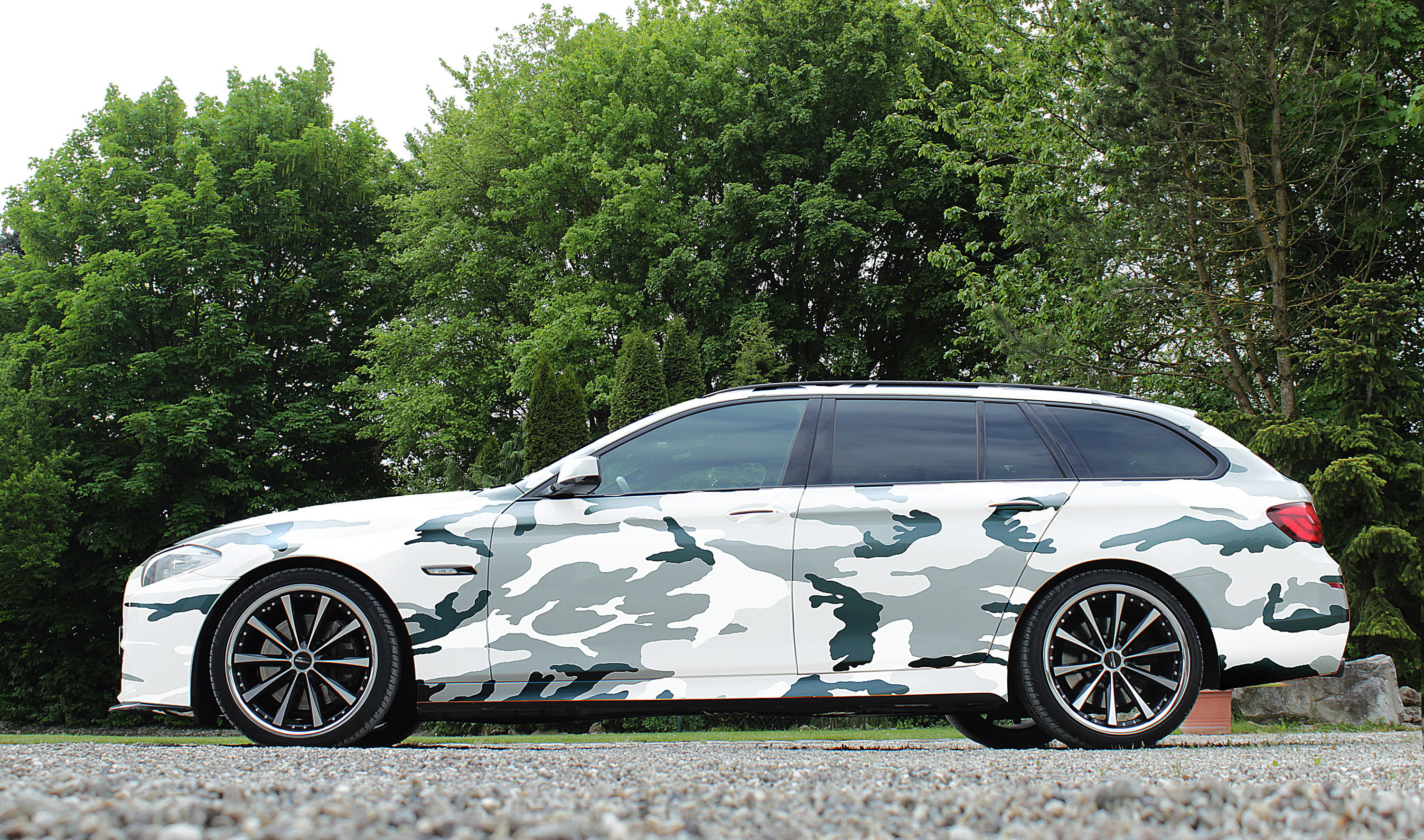 Cor Speed Team Reveals Refreshed Bmw 5 Series Touring Model
