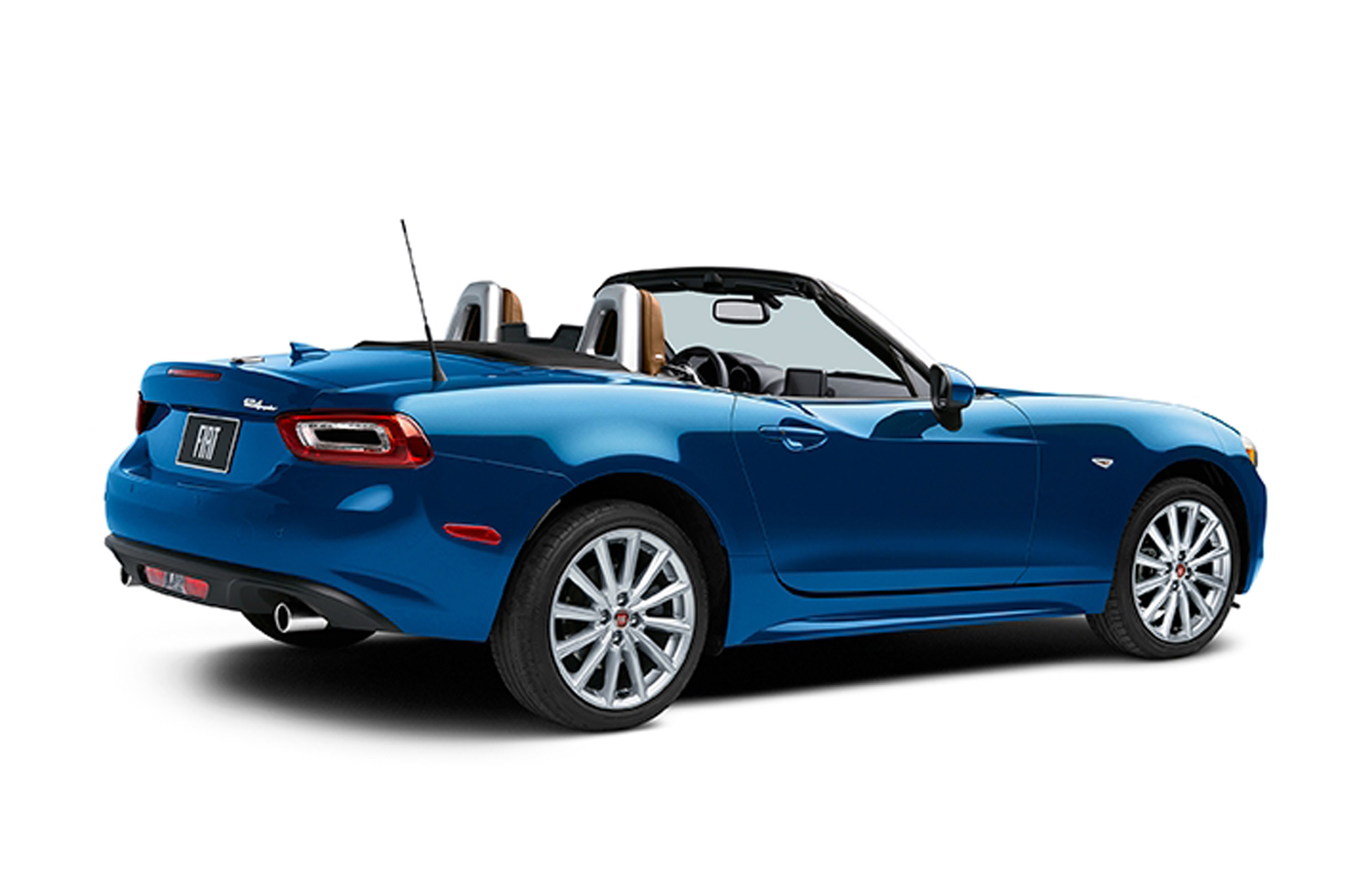 fiat unveils 2017 124 spider model. Black Bedroom Furniture Sets. Home Design Ideas