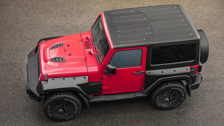 Kahn Design Team Showcases A Revised Jeep Wrangler Monster