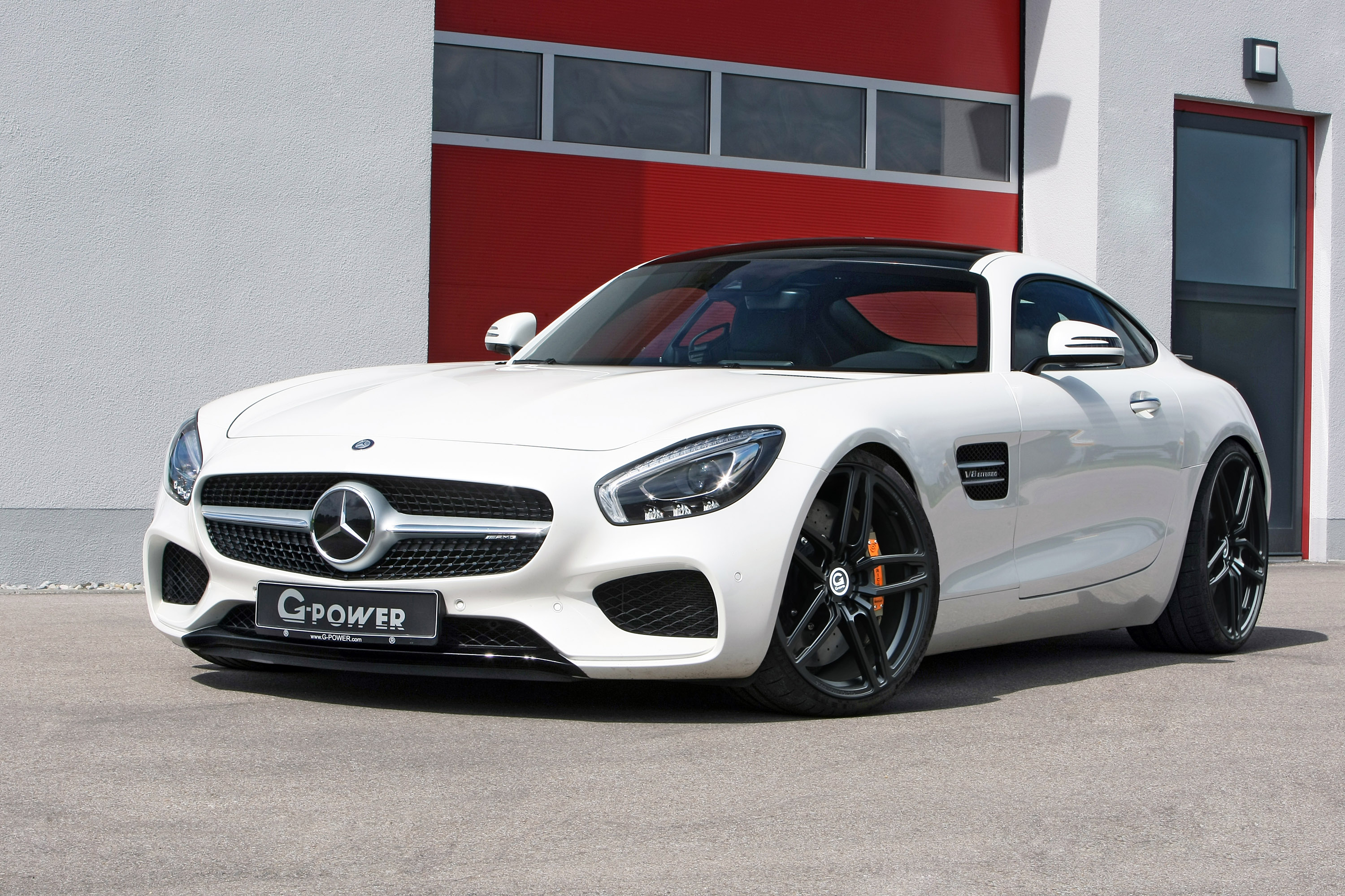 G Power Upgrades The Already Massive Mercedes Amg Gt S Machine