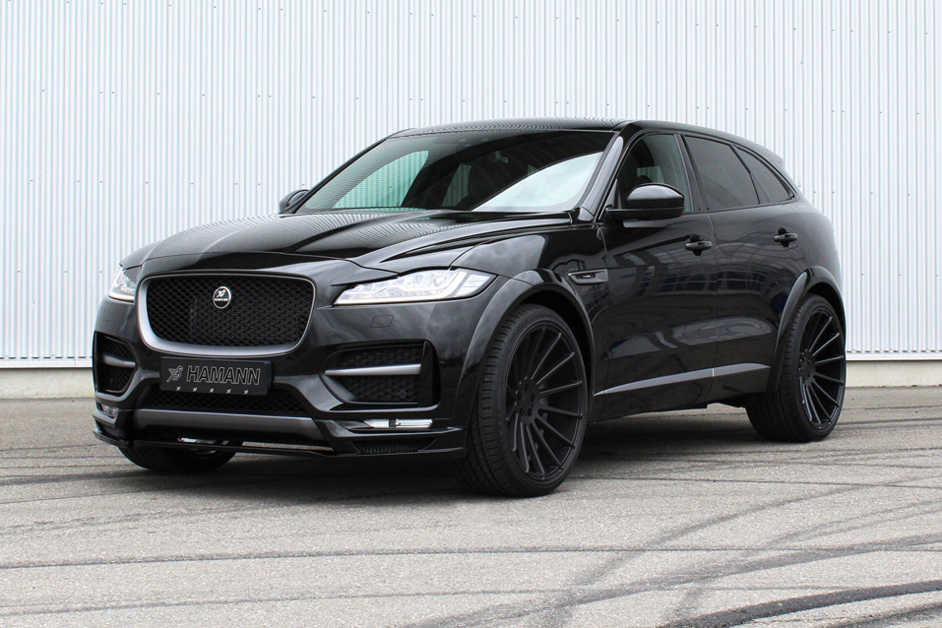 Hamann Team Reveals A Tweaked Jaguar F Pace Suv