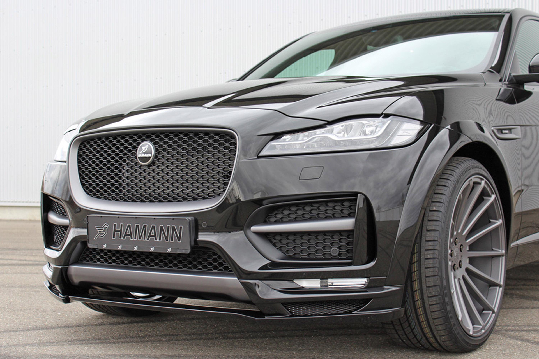 Hamann Team Reveals A Tweaked Jaguar F Pace SUV