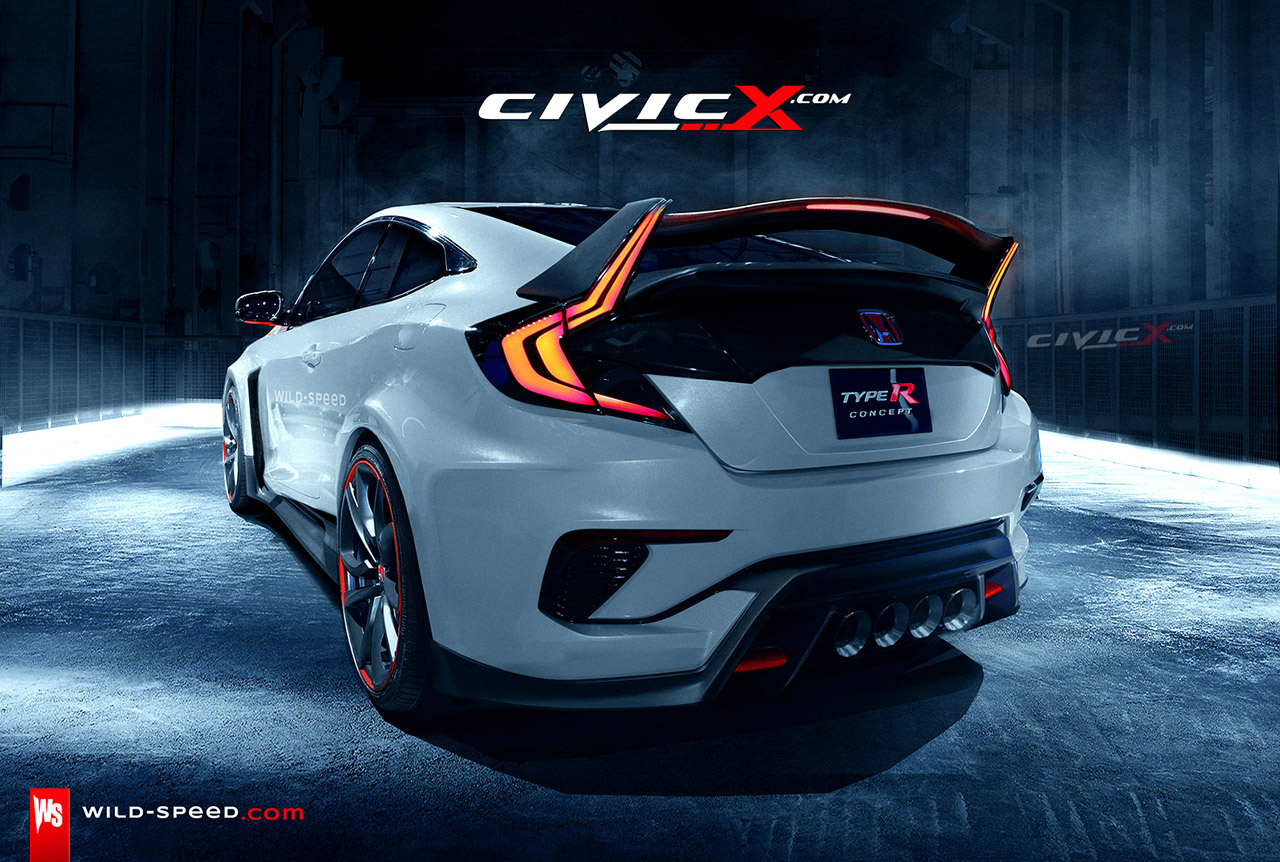 2016 Honda Civic Sedan Rendering Inspired By Civic Concept | 2016 ...