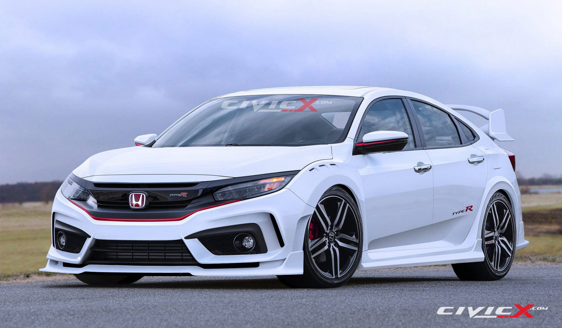 2017 Honda Civic Type R Hatchback Prototype By Civicx 2 Of 4