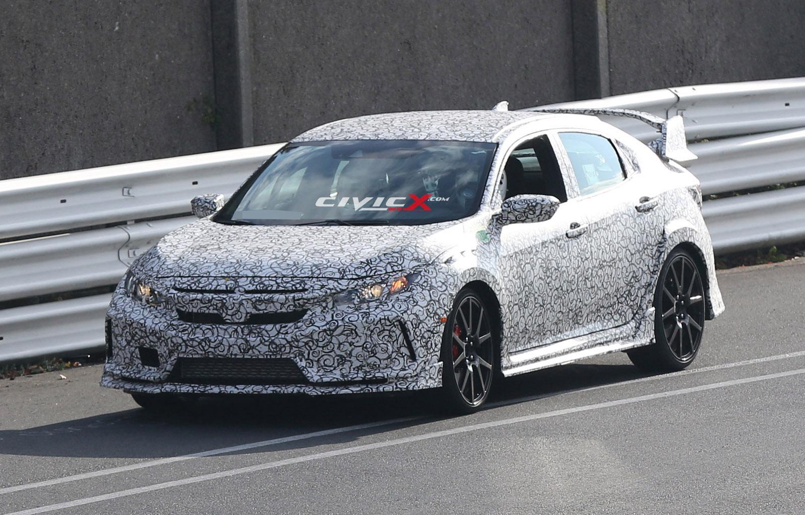 Civicx Imagines 2017 Honda Civic Type R Hatchback Prototype