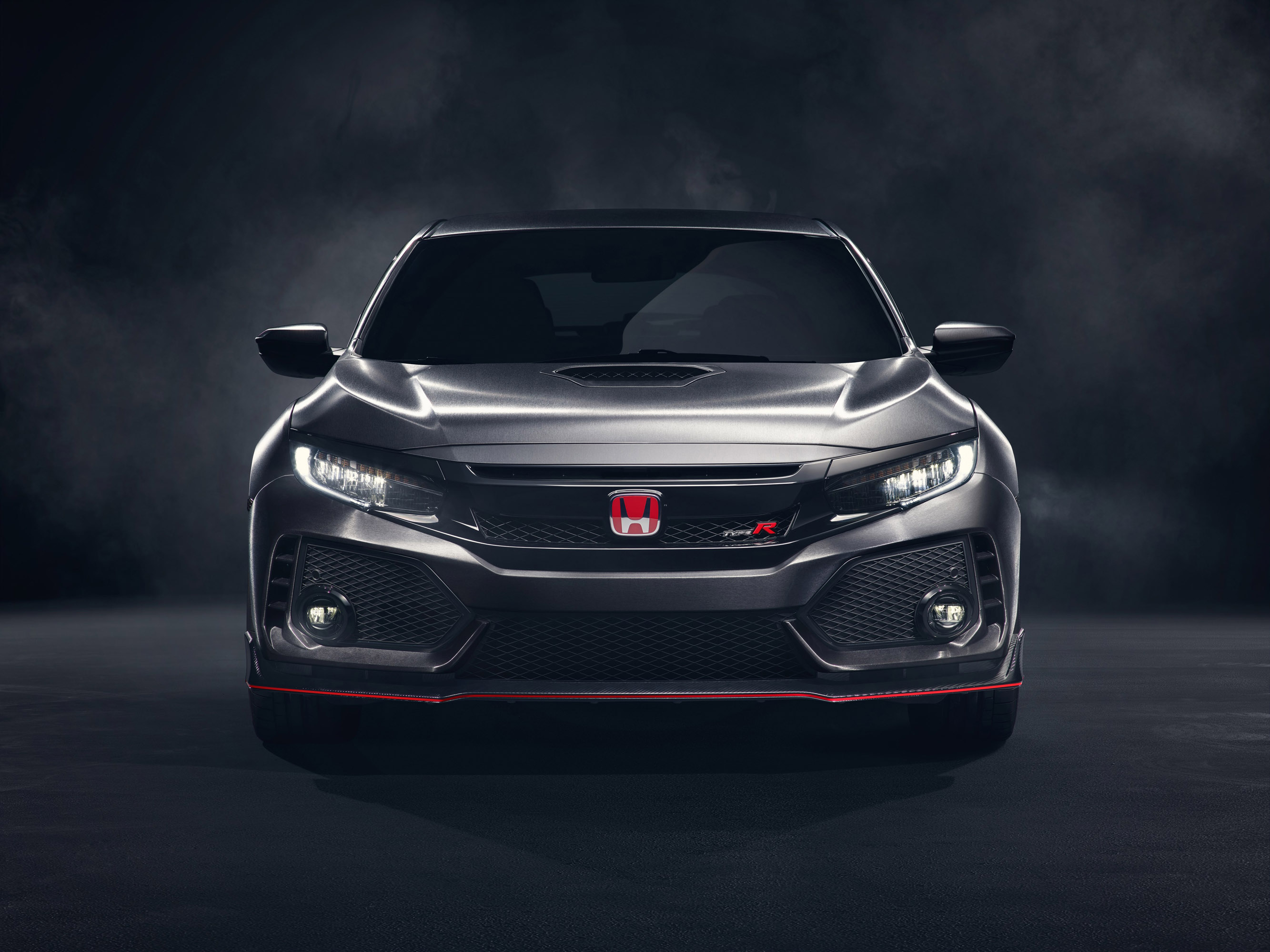 honda team reveals the 2017 civic type r. Black Bedroom Furniture Sets. Home Design Ideas