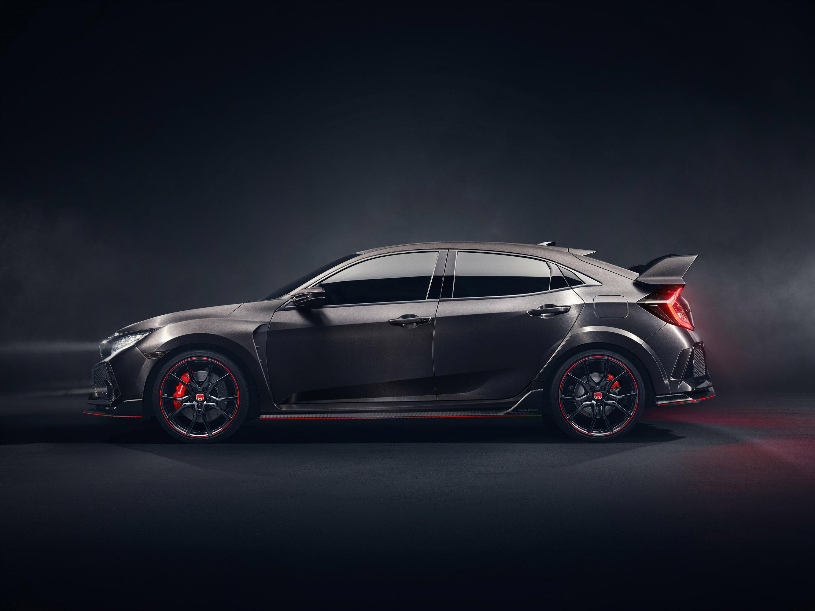 Honda Team Reveals The 2017 Civic Type R