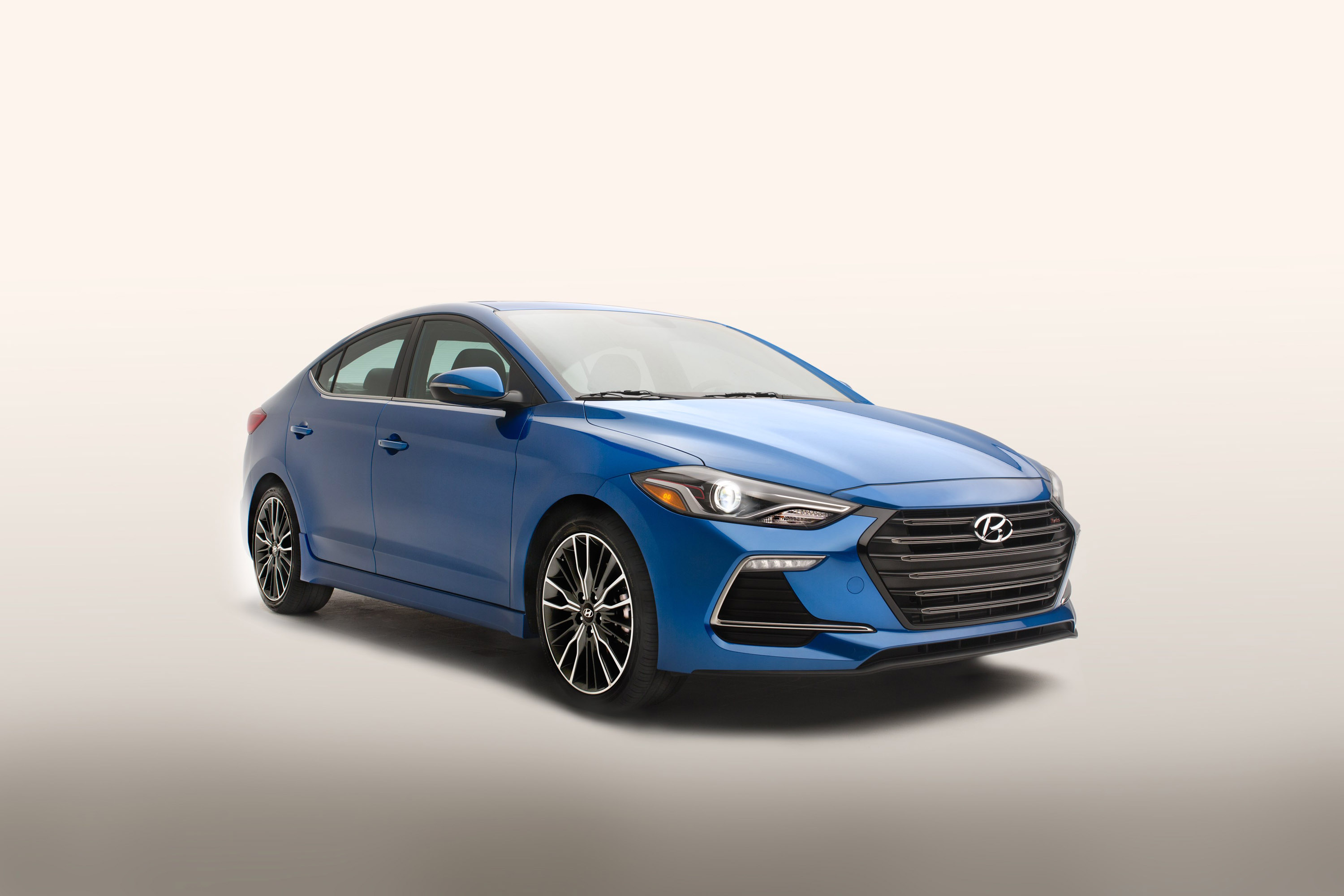 hyundai reveals the new elantra sport. Black Bedroom Furniture Sets. Home Design Ideas