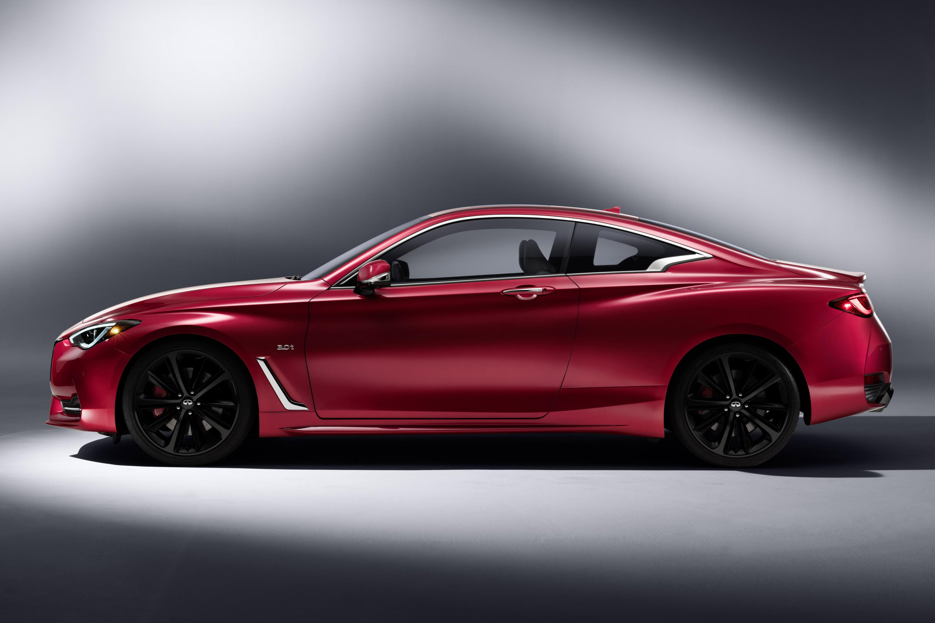 2017 infiniti q60 revealed at naias. Black Bedroom Furniture Sets. Home Design Ideas
