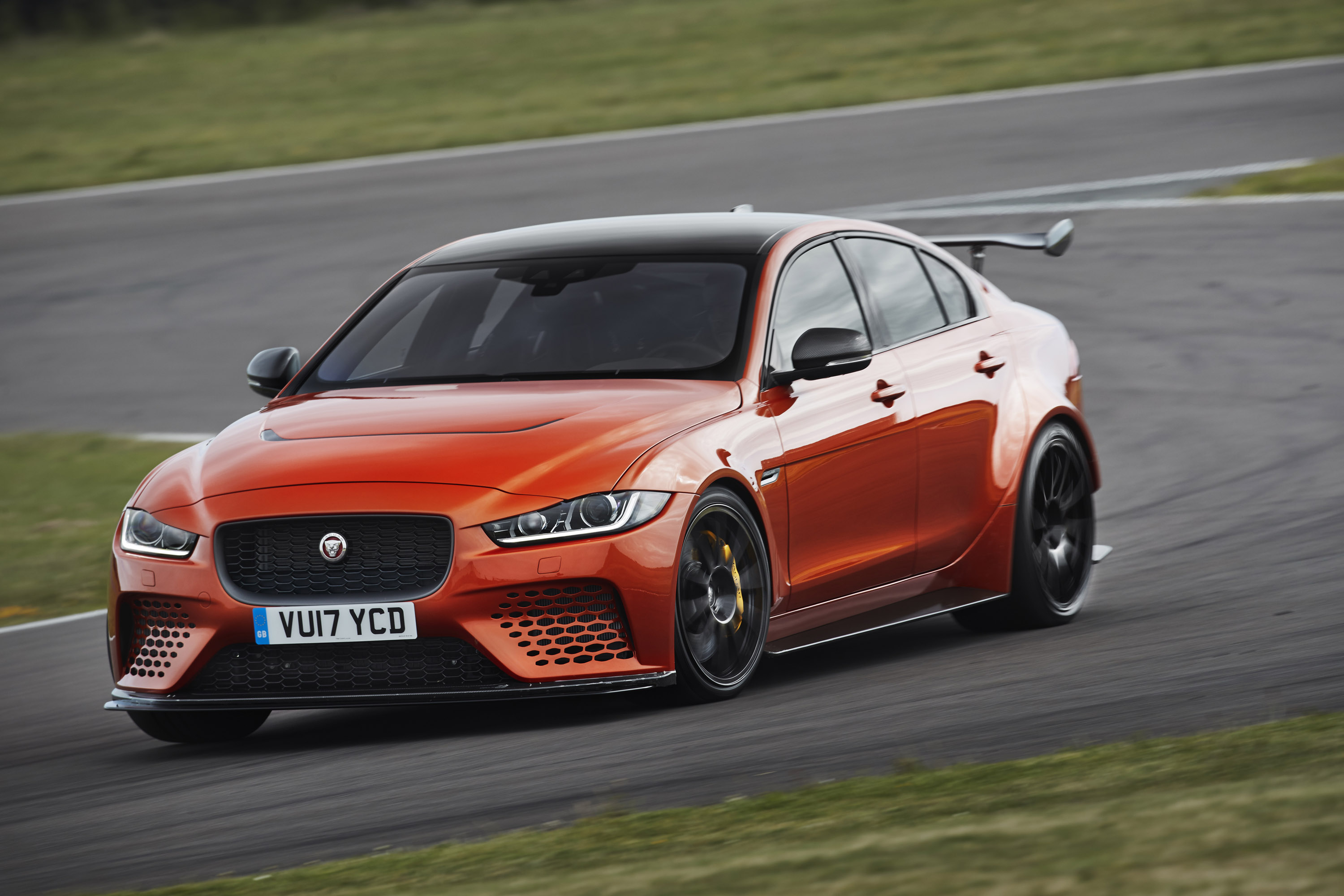 2017 jaguar xe sv project 8 sedan is revealed. Black Bedroom Furniture Sets. Home Design Ideas