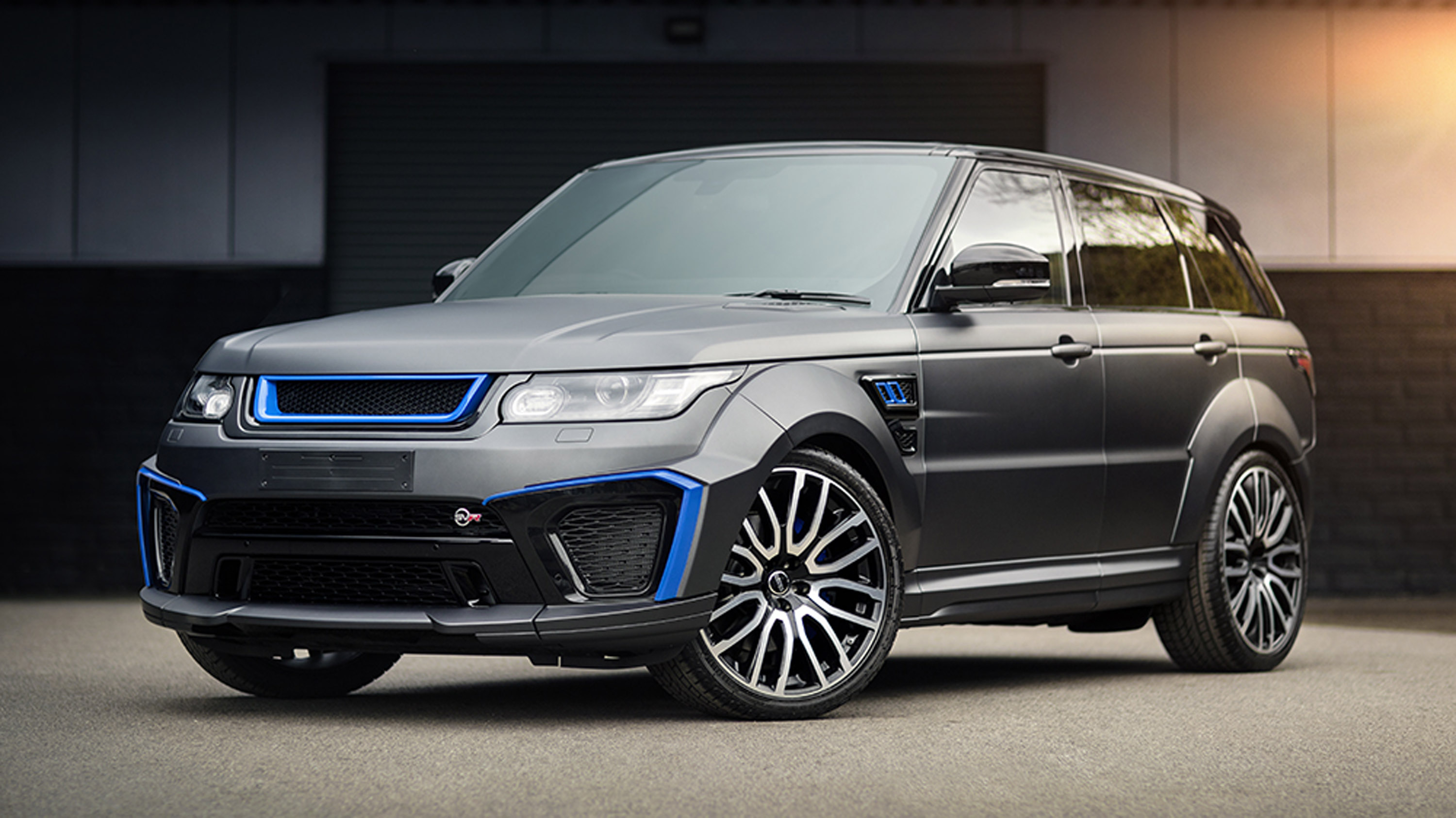 2017 kahn design land rover range rover sport svr. Black Bedroom Furniture Sets. Home Design Ideas