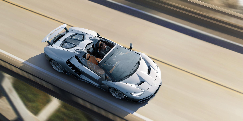 Lamborghini Centenario Roadster Debuts In California