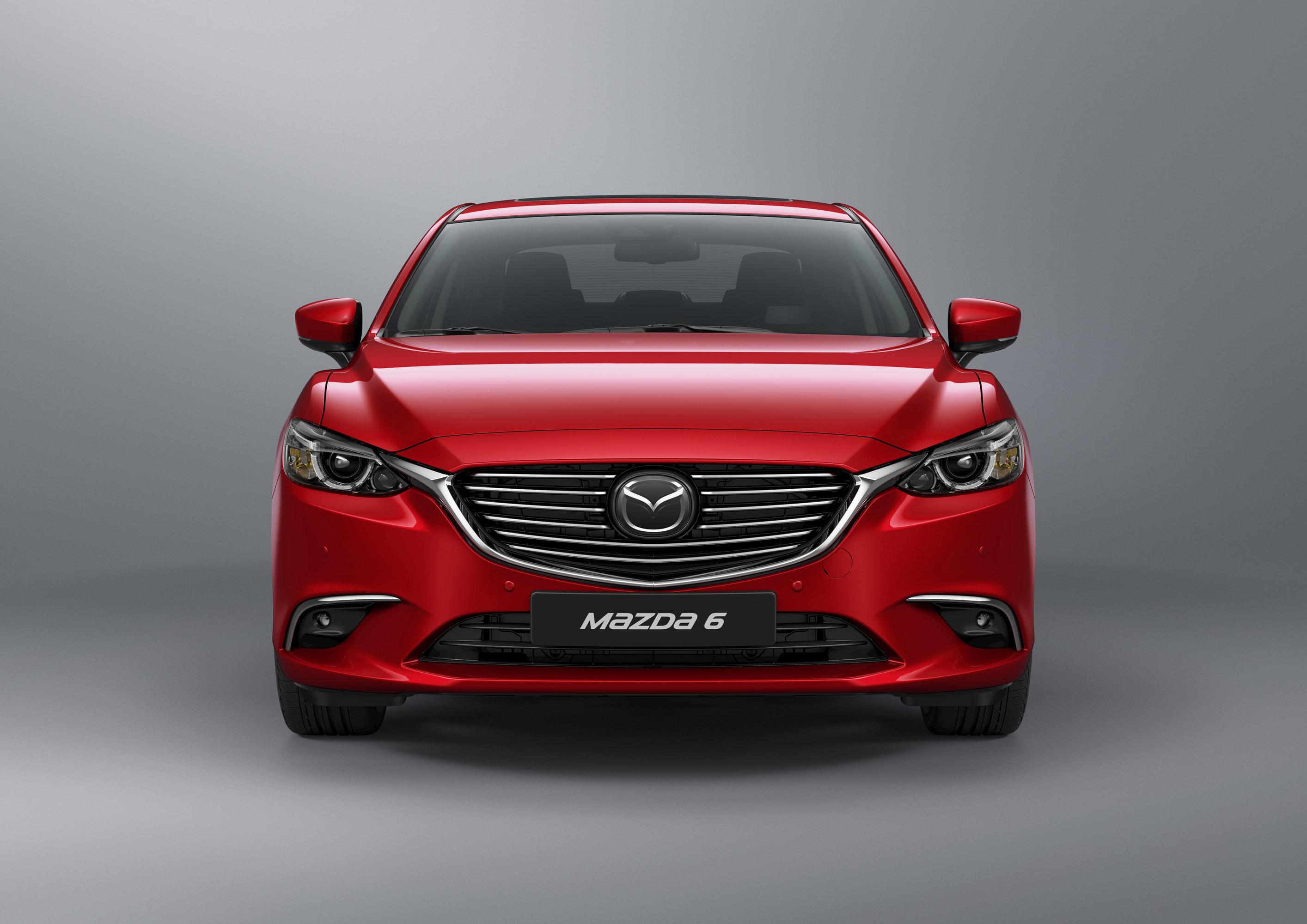 Mazda reveals details for the 2017 Mazda6 model