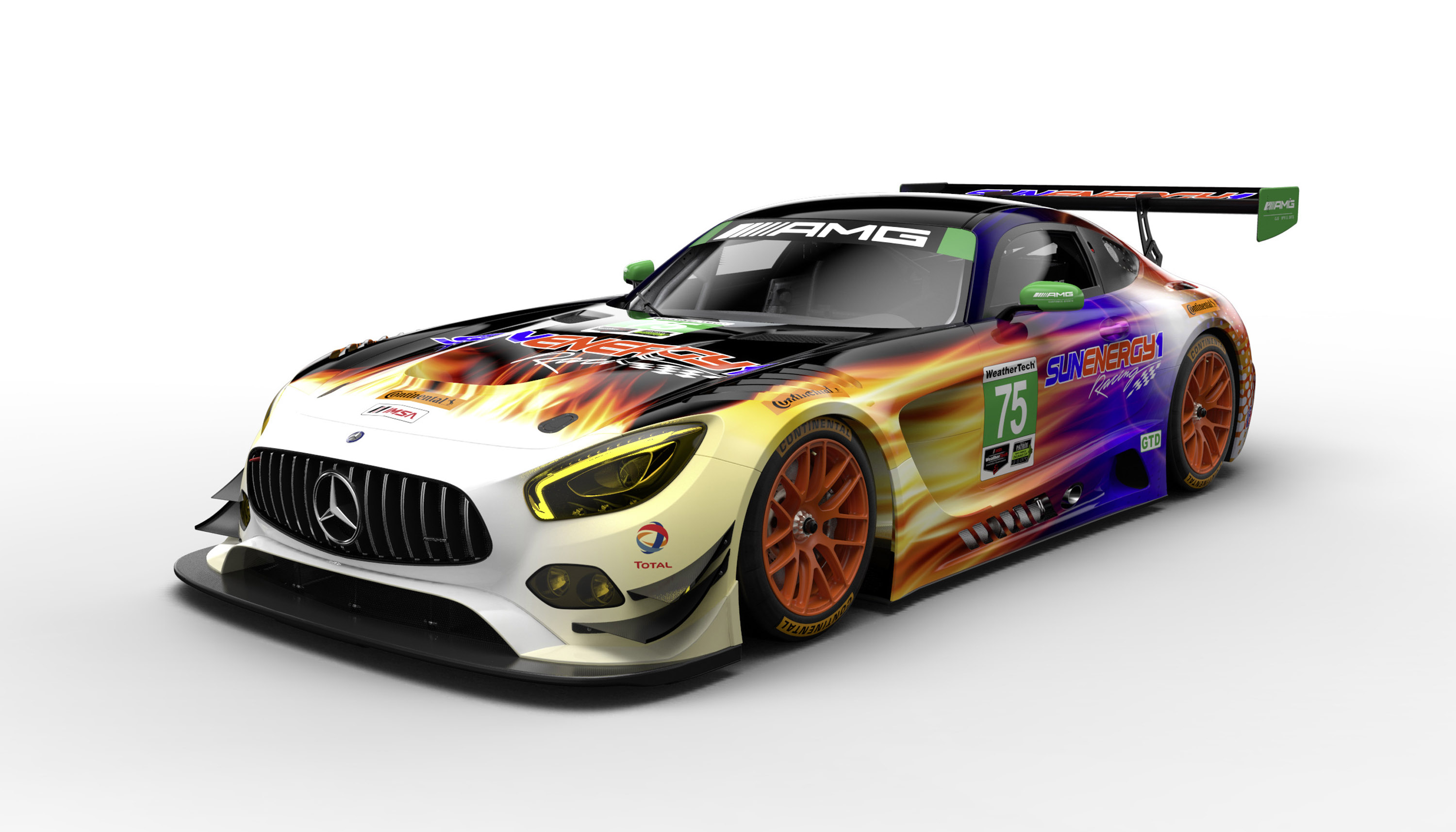 Mercedes Amg Showcases New Racetrack Models
