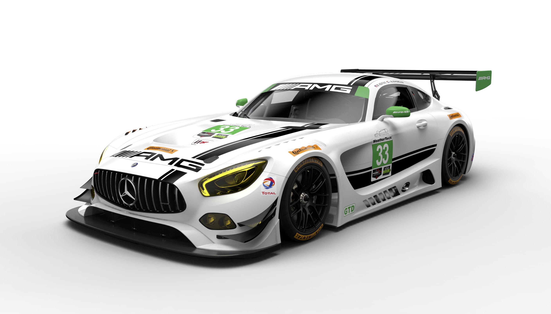 Mercedes amg showcases new 2017 racetrack models for Sun motor cars mercedes benz