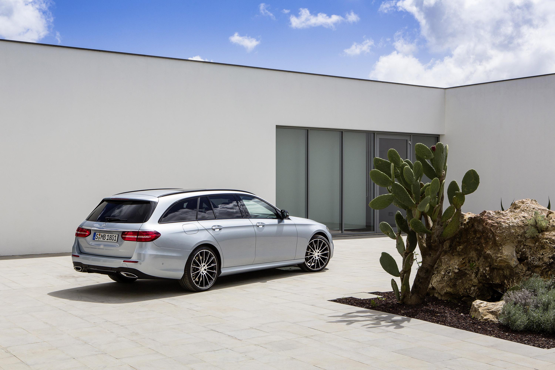 Mercedes reveals 2017 E-Class Estate and EMG E-Class Estate