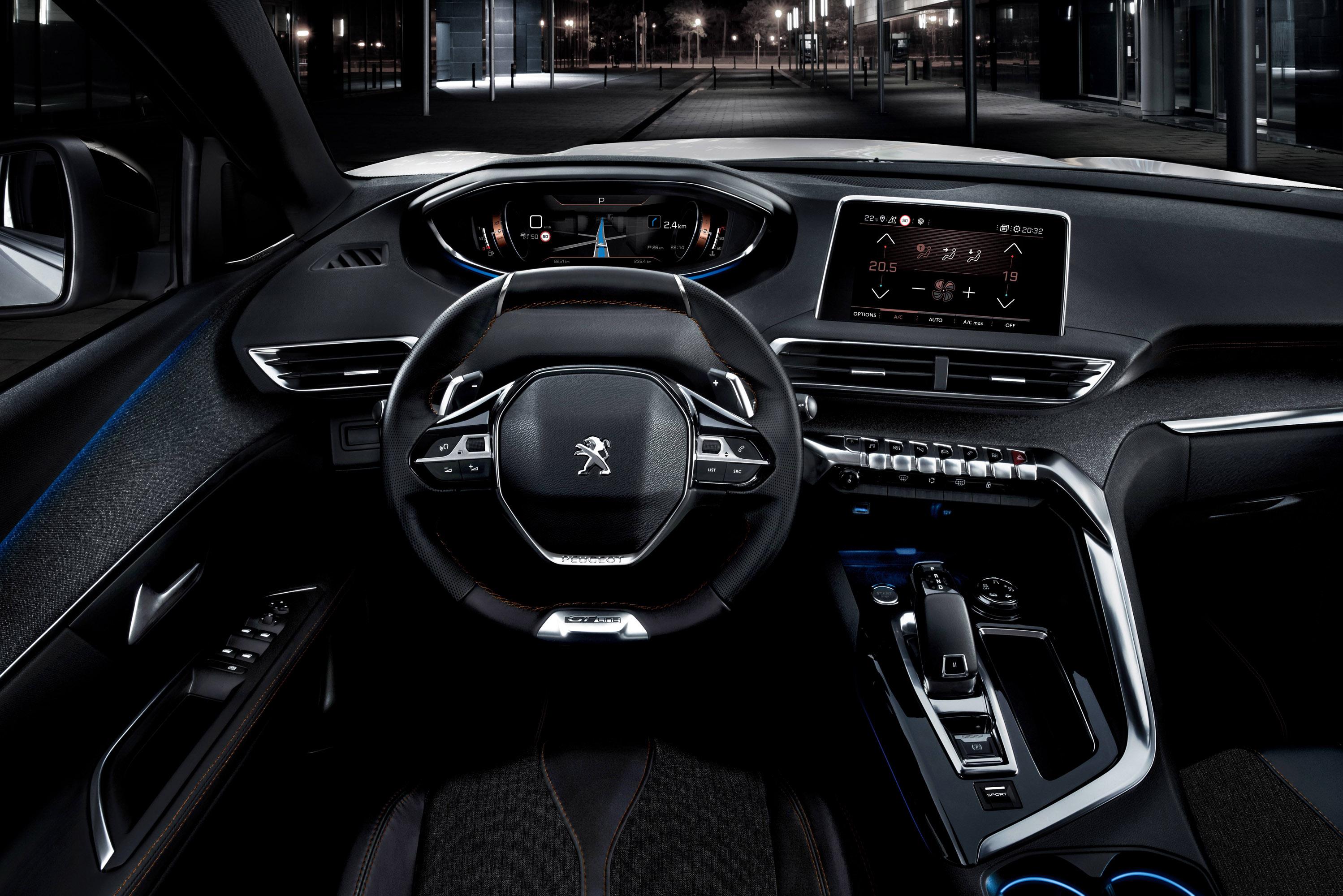 Peugeot Reveals 2017 5008 Suv