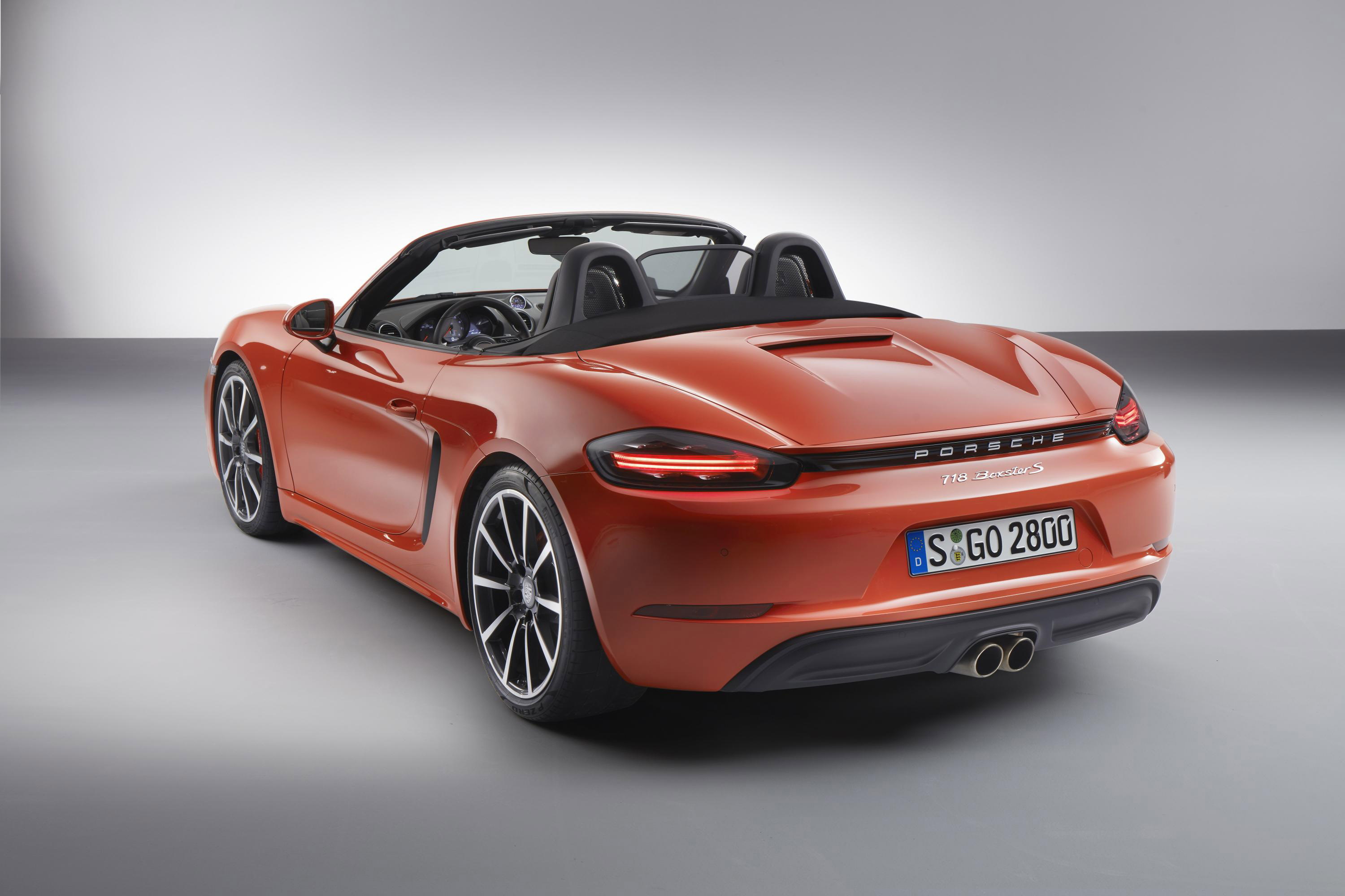 2017 porsche 718 boxster and boxster s with official premiere detailed review