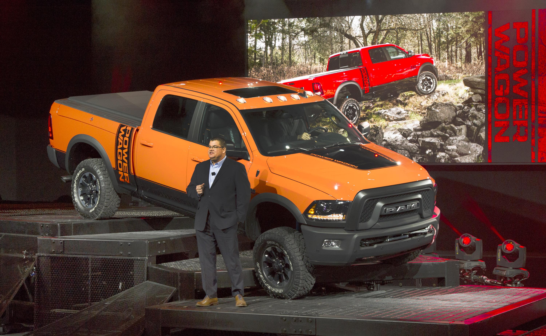 Dodge Ram 2017 >> Ram unveils 2017 Power Wagon