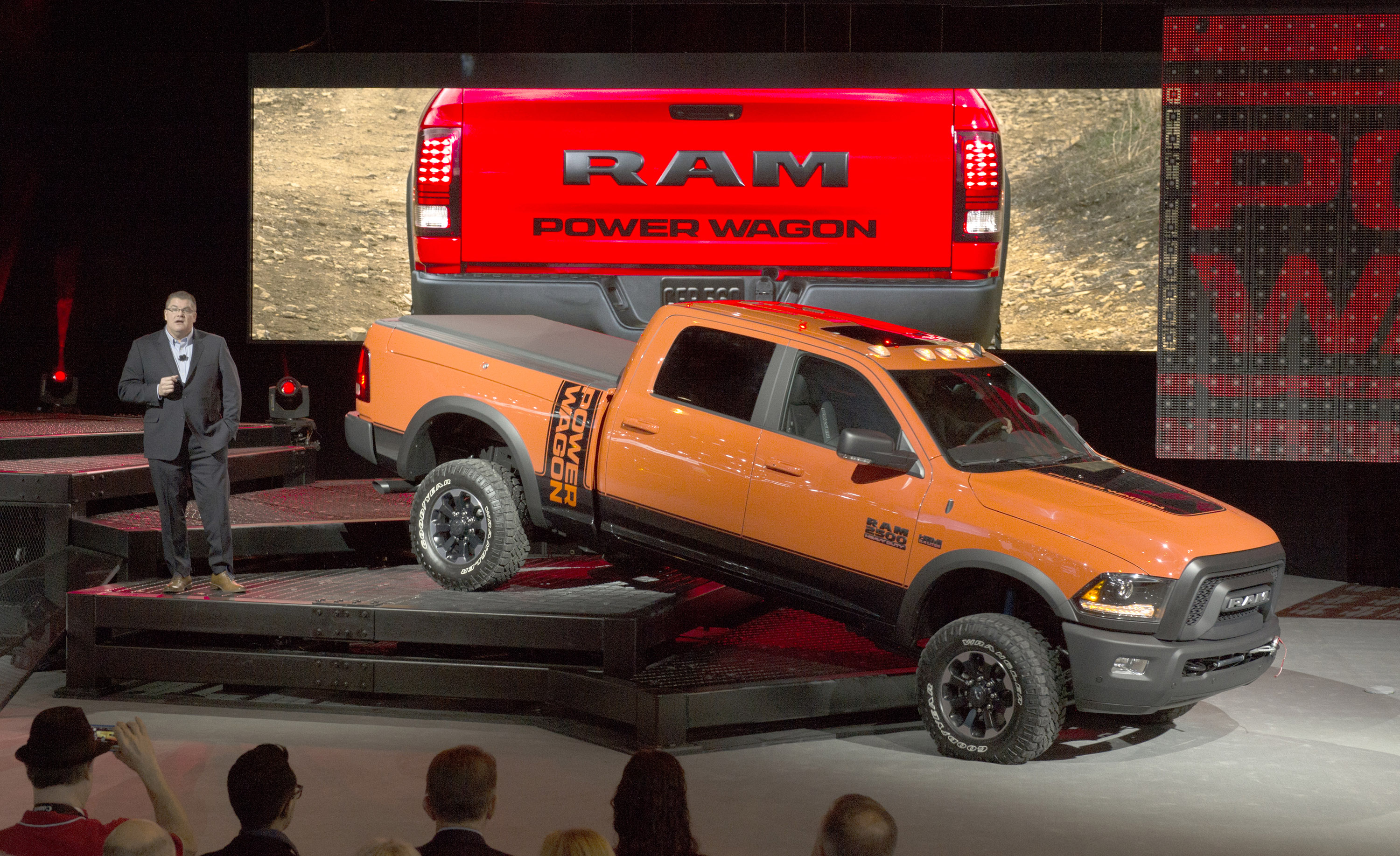 Ram Power Wagon Will Show Off Road Capabilities At Chicago Auto Show Next Year