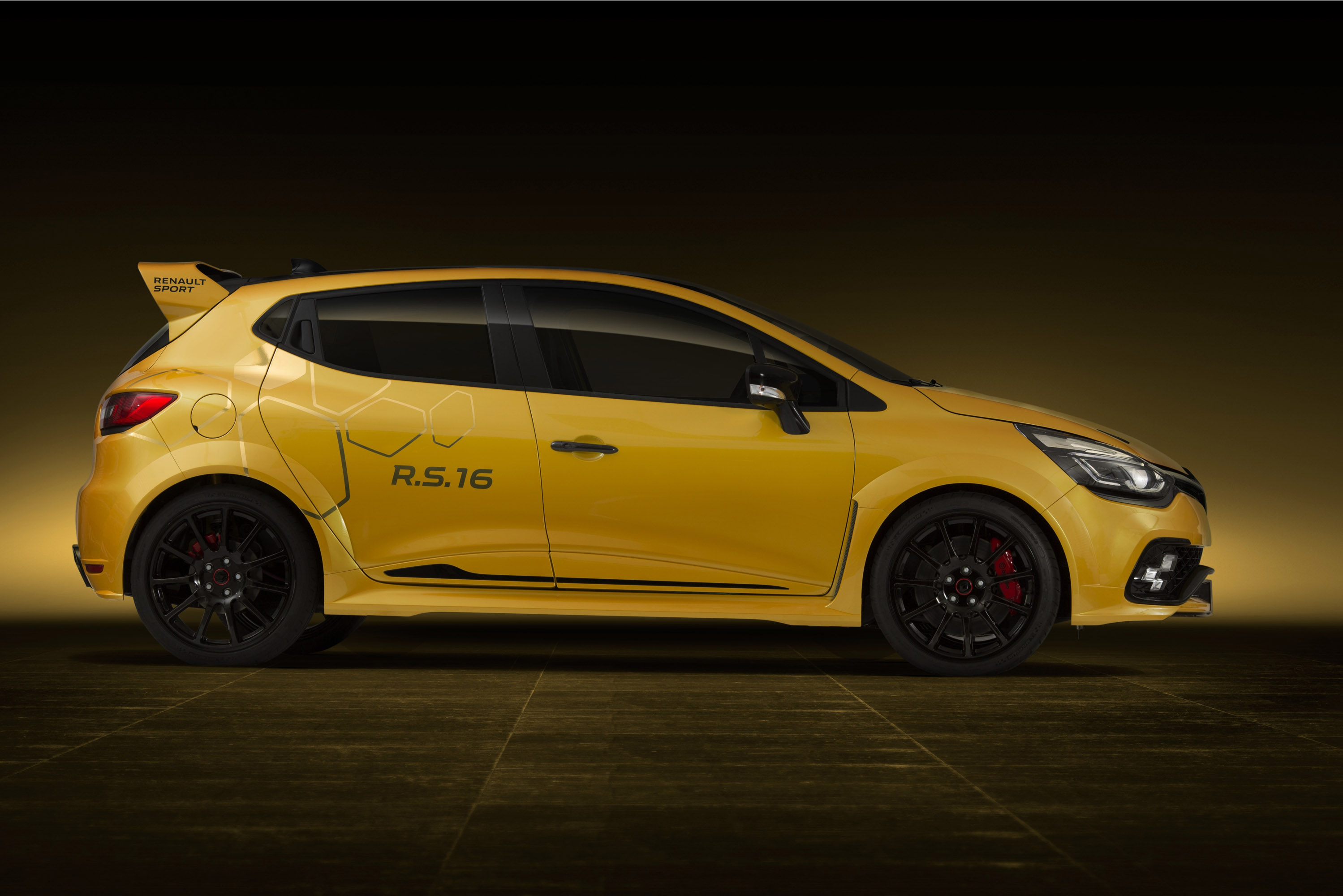 renault sport unveils the 2017 rs clio 16 in monaco. Black Bedroom Furniture Sets. Home Design Ideas