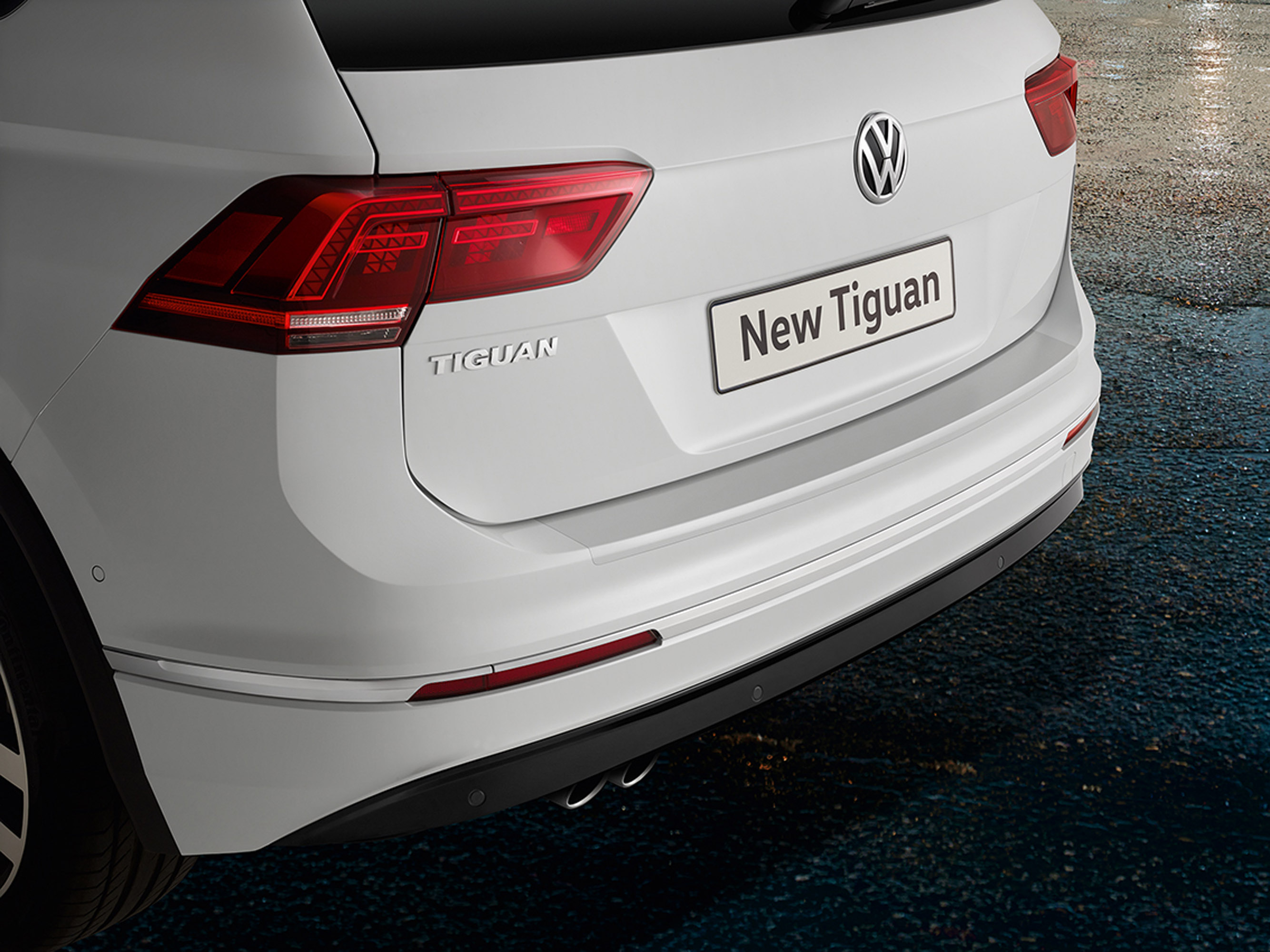 VW Tiguan comes with tons of customizable features!