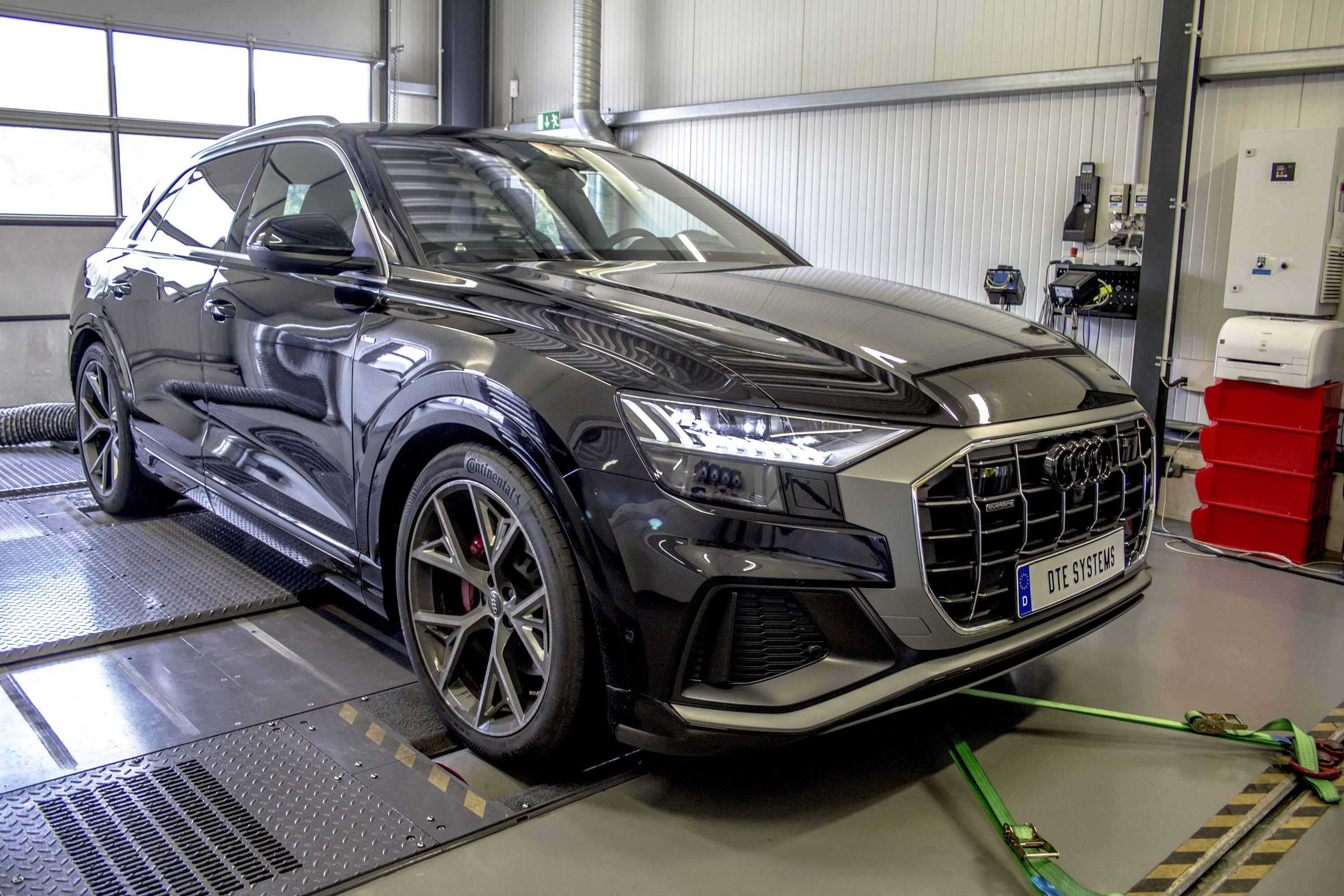 Dte Systems Upgrades Audi Q8 With Chiptuning