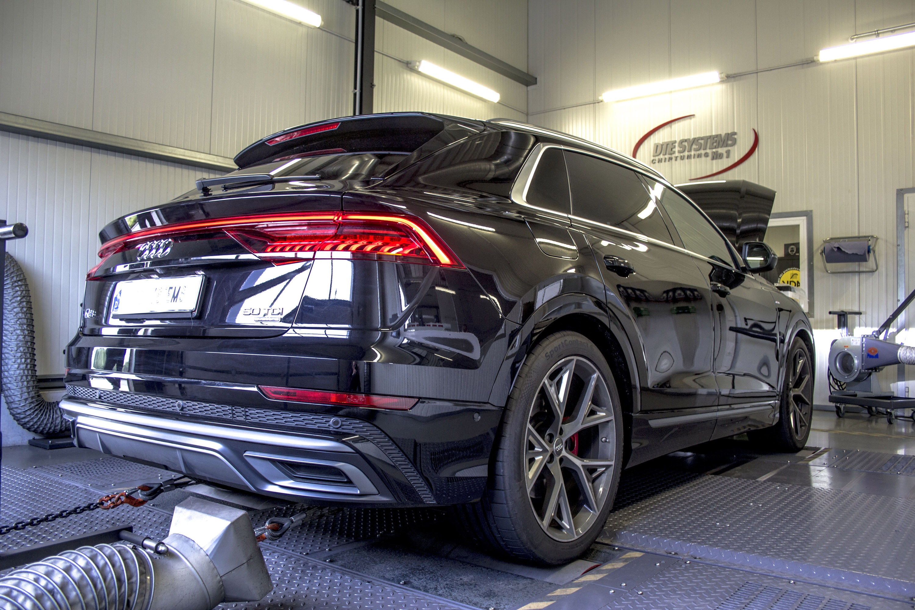 Dynamic Auto Group >> DTE Systems upgrades Audi Q8 with chiptuning