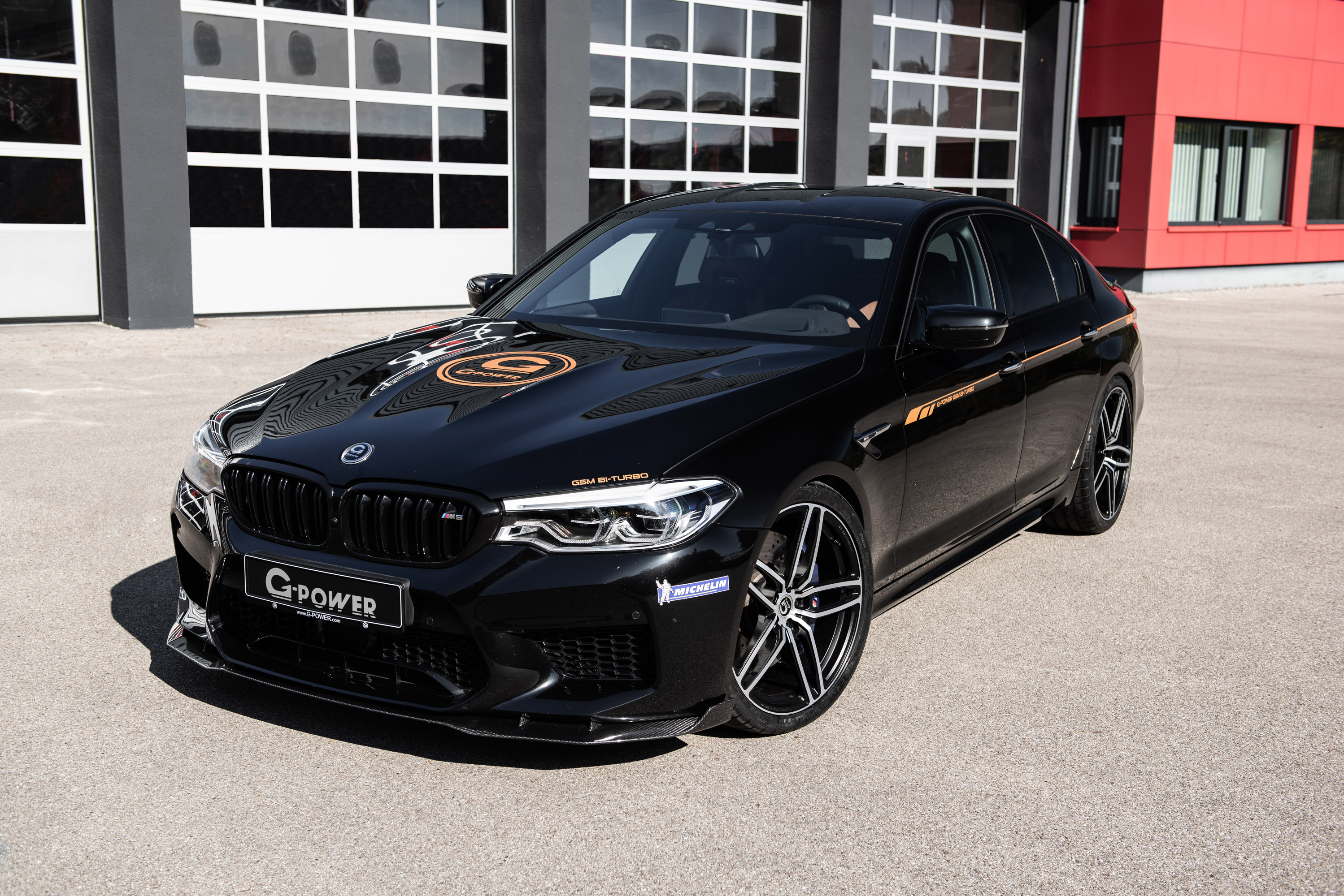 g power presents new bmw m5 upgrade concept. Black Bedroom Furniture Sets. Home Design Ideas