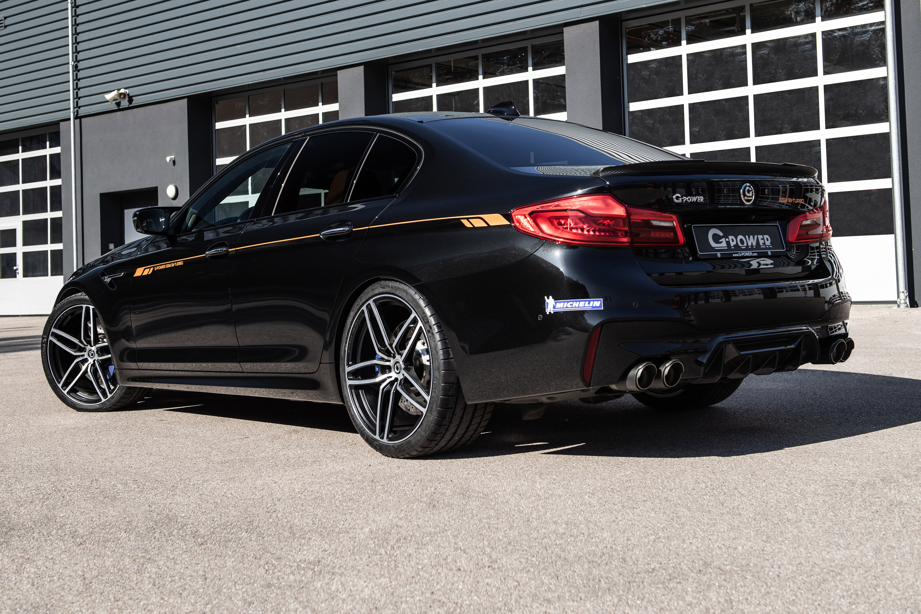G Power Presents New Bmw M5 Upgrade Concept