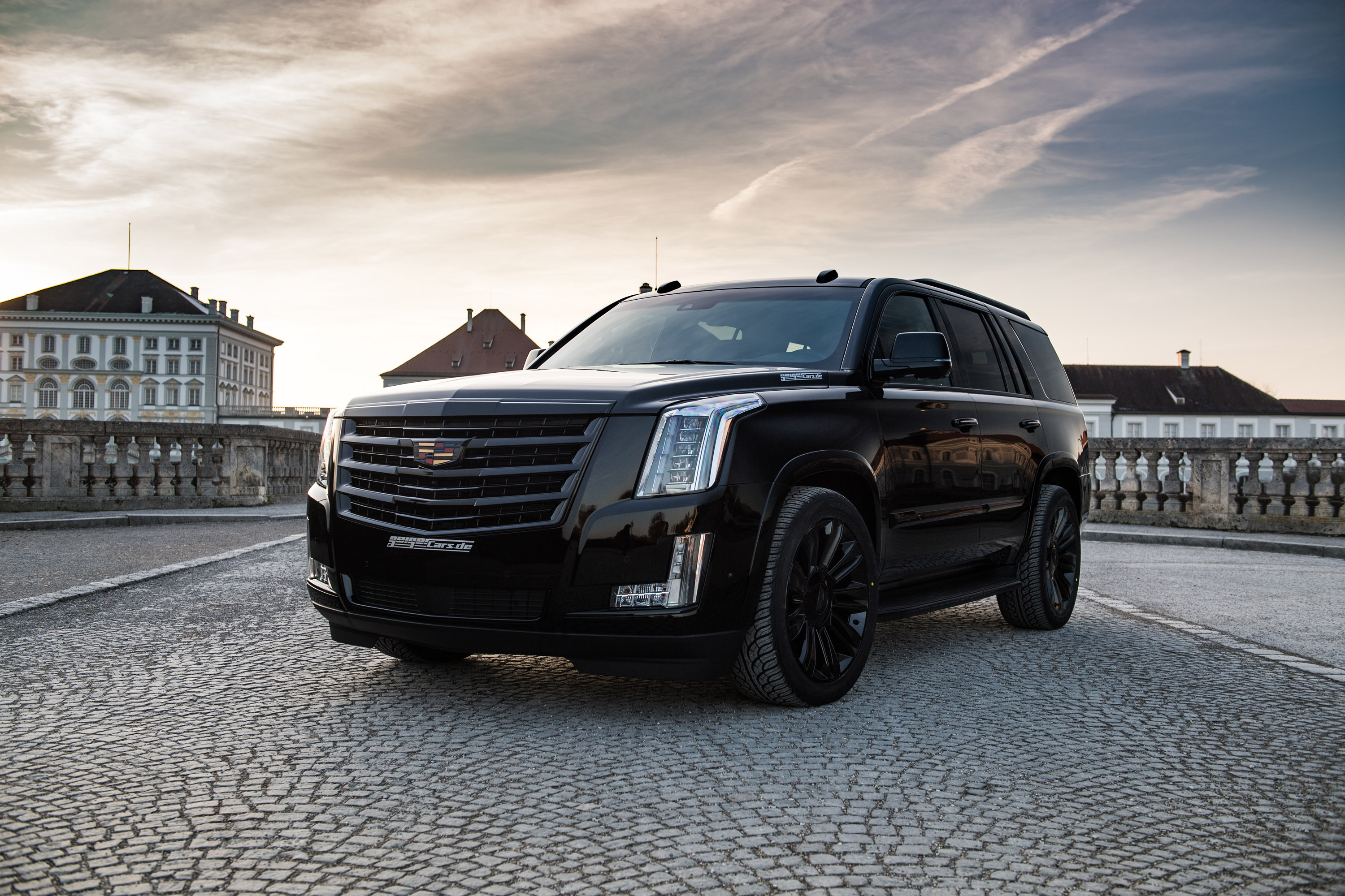 "2017 Escalade Price >> GeigerCars.de showcases a pretty large ""Black Edition"" model. Check it out!"