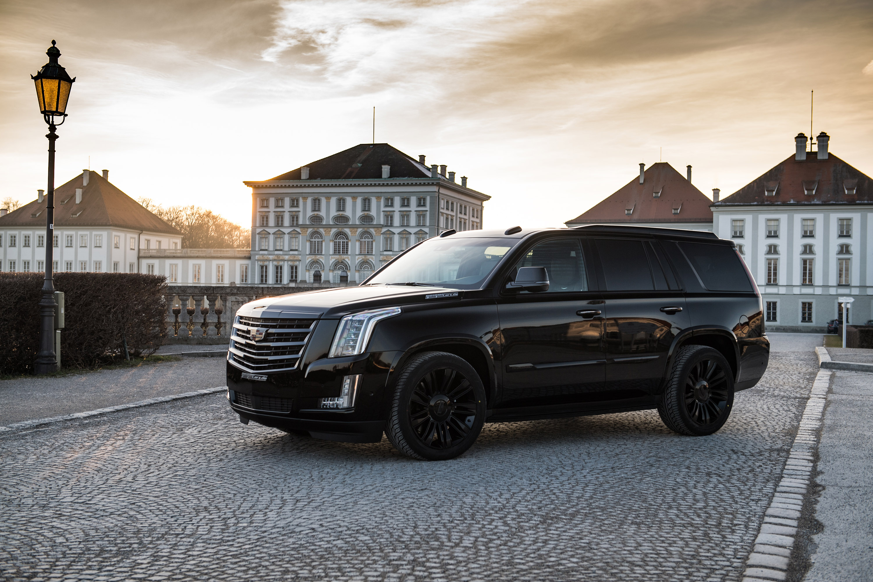 "Cadillac Escalade Black Rims >> GeigerCars.de showcases a pretty large ""Black Edition"" model. Check it out!"