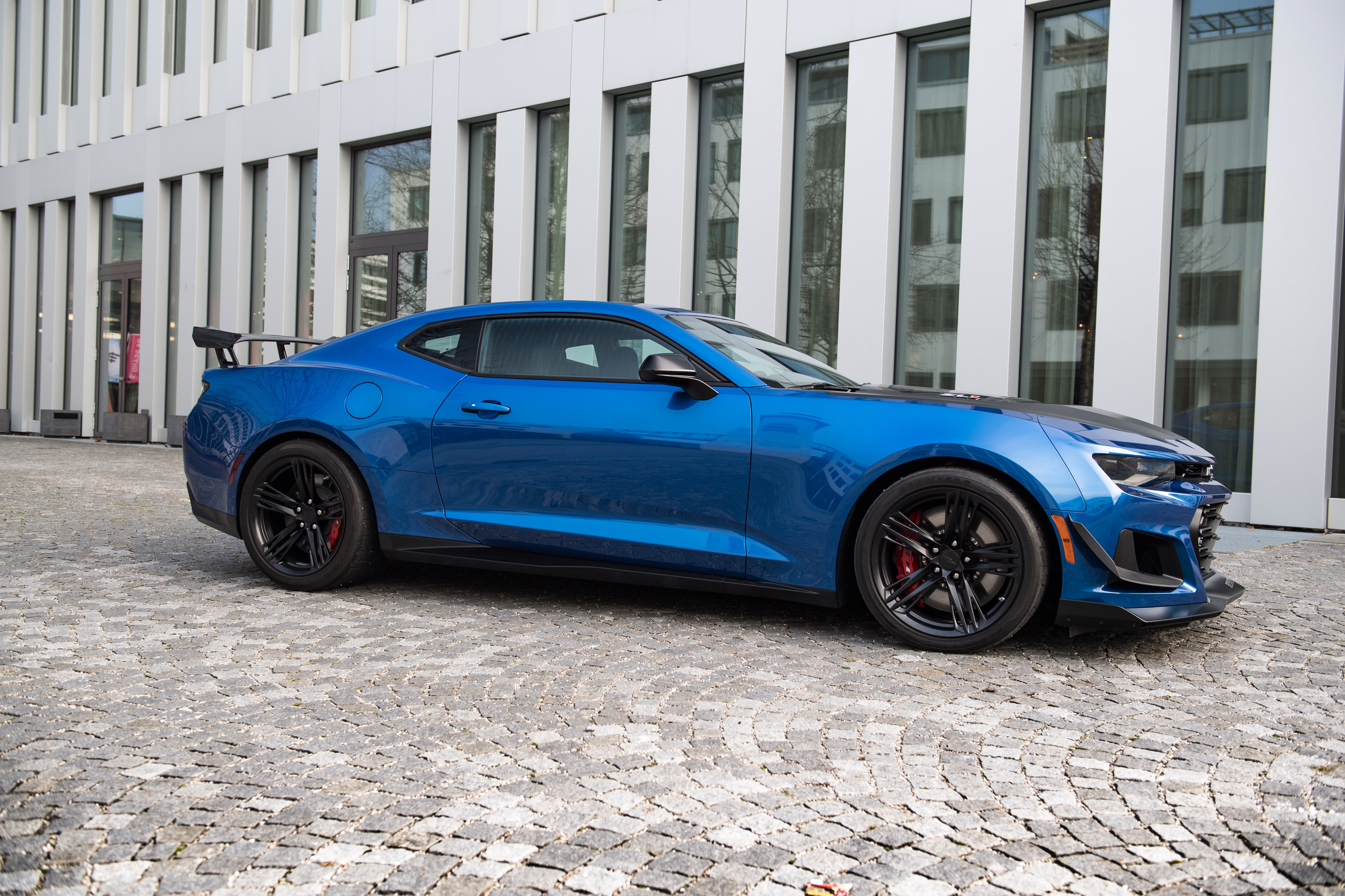 Geigercars De Reveals Sporty Upgrade For Camaro Zl1