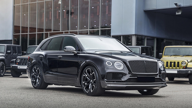 Kahn Design Upgrades A Bentley Bentayga