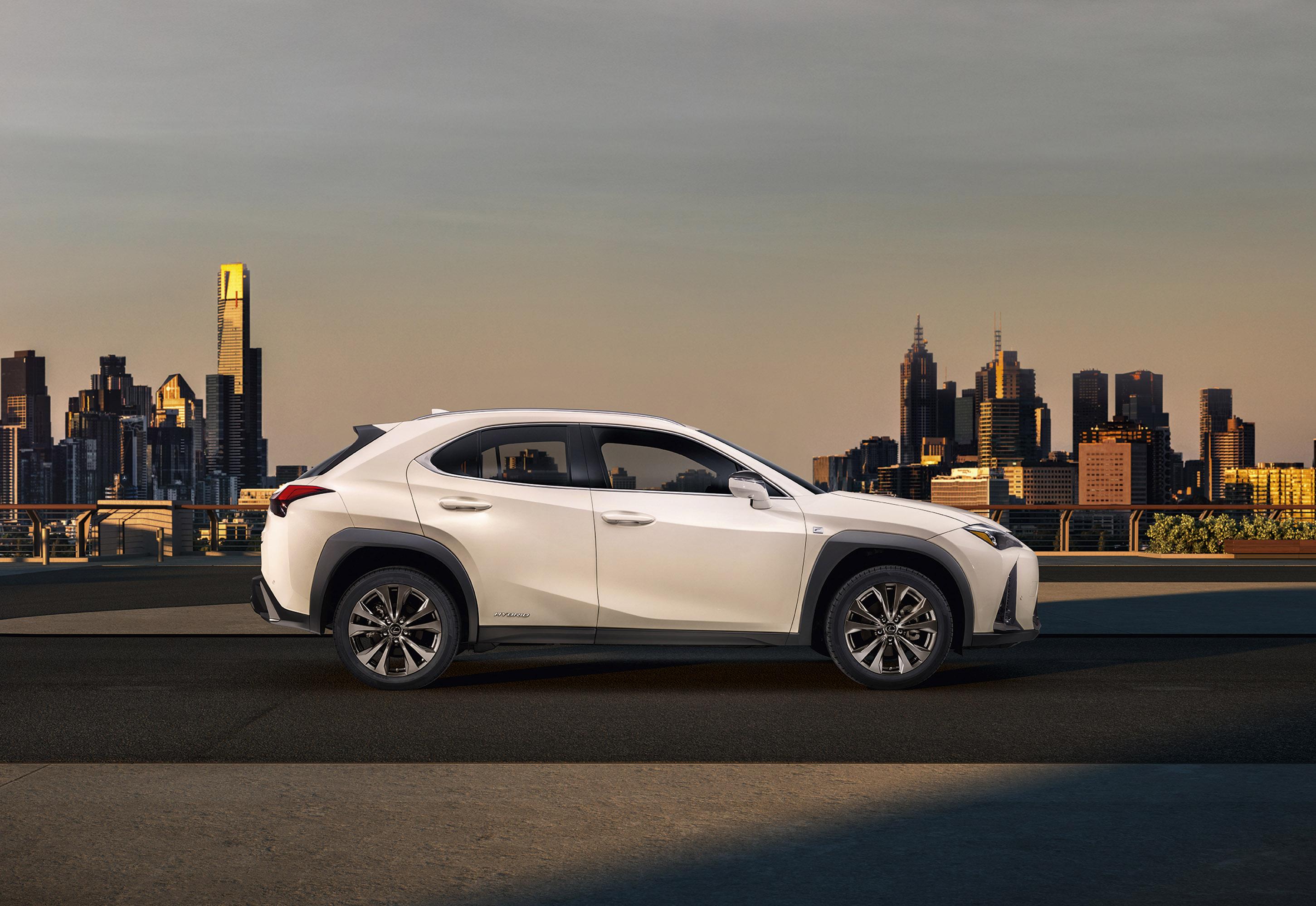 Lexus Reveals The New Ux Suv Model