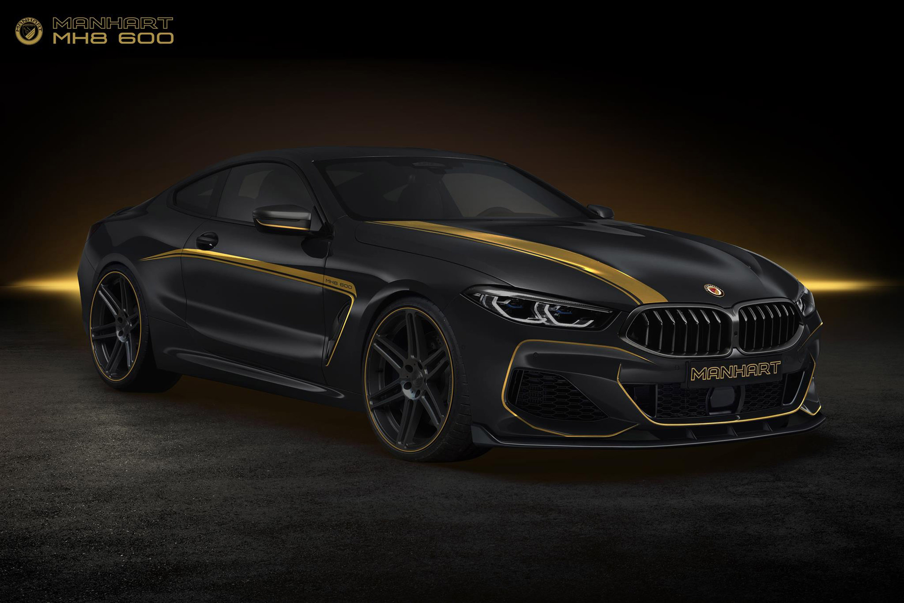 Manhart Upgrades 2018 Bmw 8 Series Machine