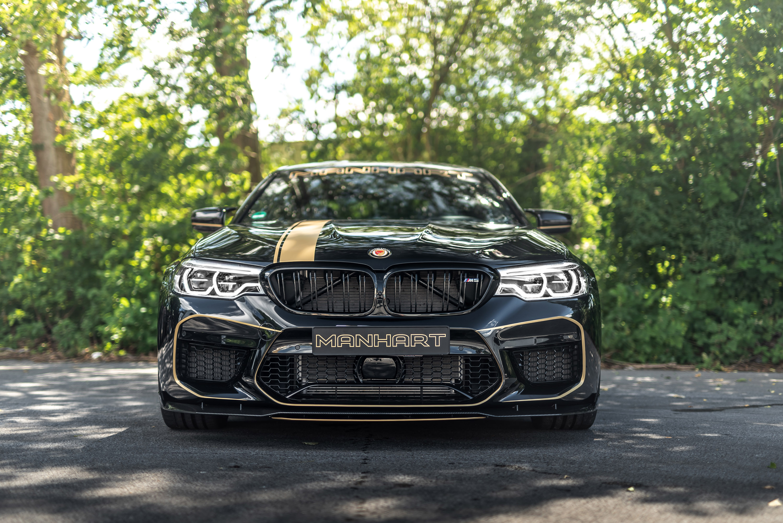 MANHART tunes a BMW M5 unit