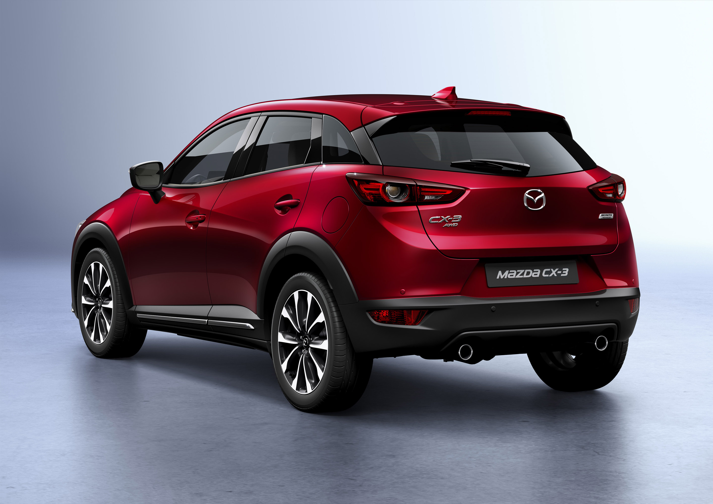 mazda reveals more details about the new cx 3 machine. Black Bedroom Furniture Sets. Home Design Ideas