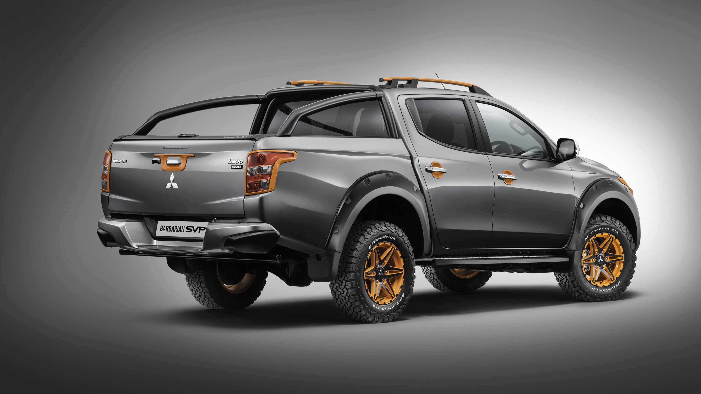 Mitsubishi presents Barbarian SVP II